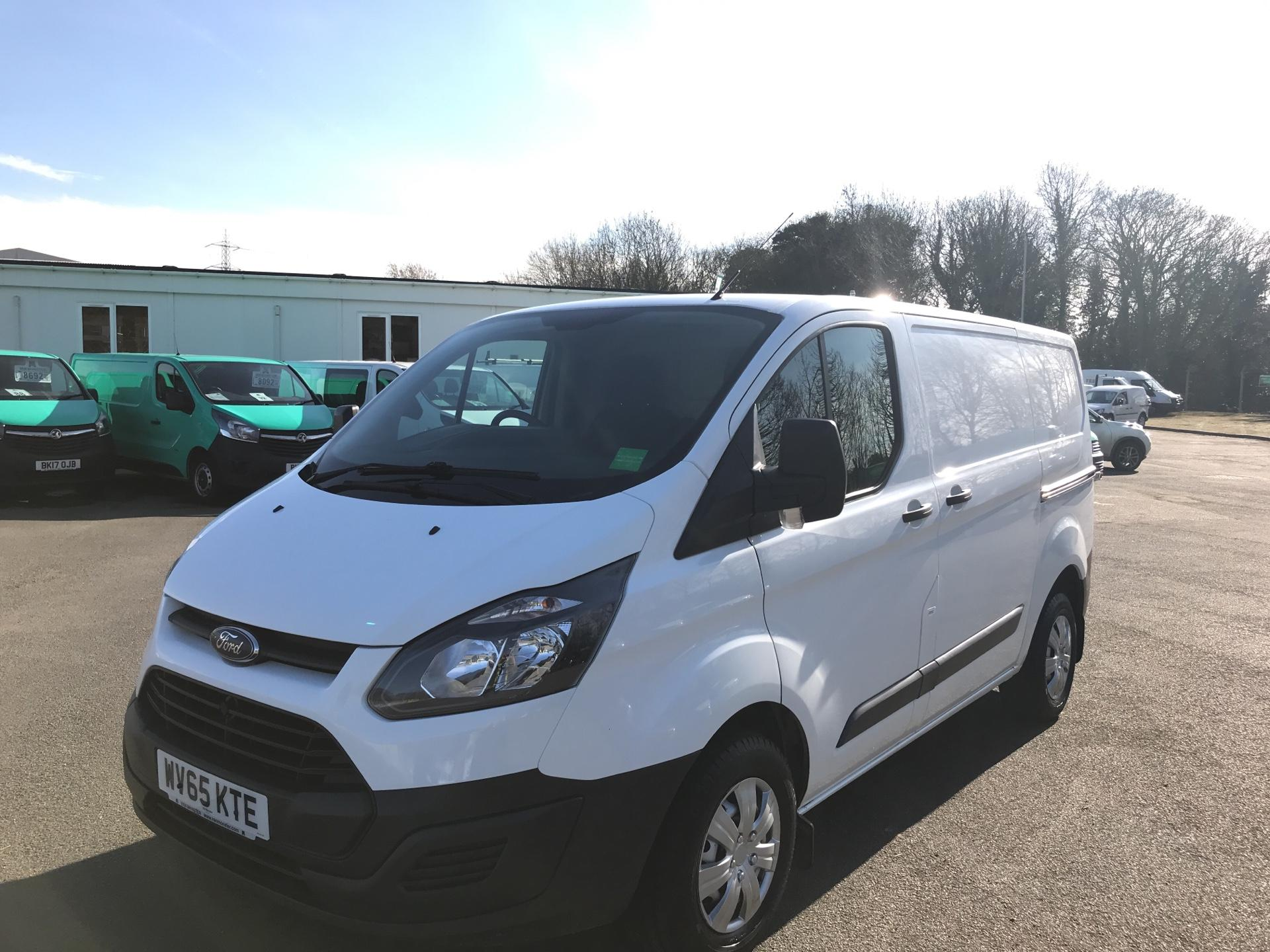 2015 Ford Transit Custom 290 L1 DIESEL FWD 2.2  TDCI 100PS LOW ROOF VAN EURO 5 (WV65KTE) Thumbnail 7