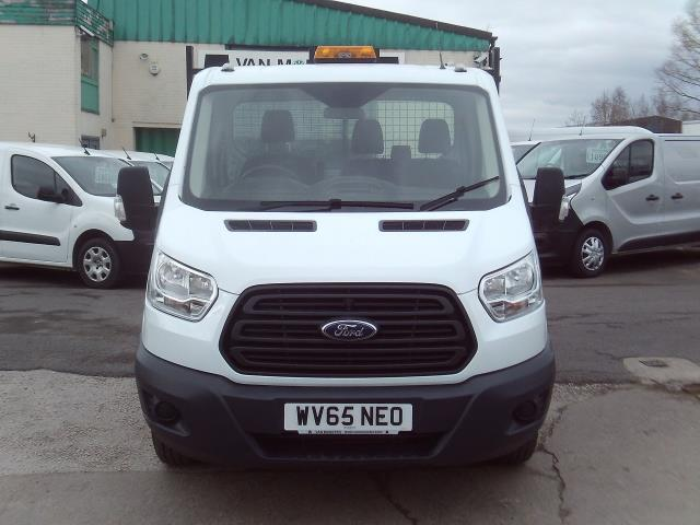2015 Ford Transit T350 Single Cab Tipper 125ps New Shape (WV65NEO) Image 13