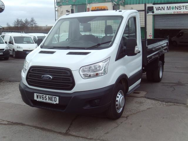 2015 Ford Transit T350 Single Cab Tipper 125ps New Shape (WV65NEO) Image 2