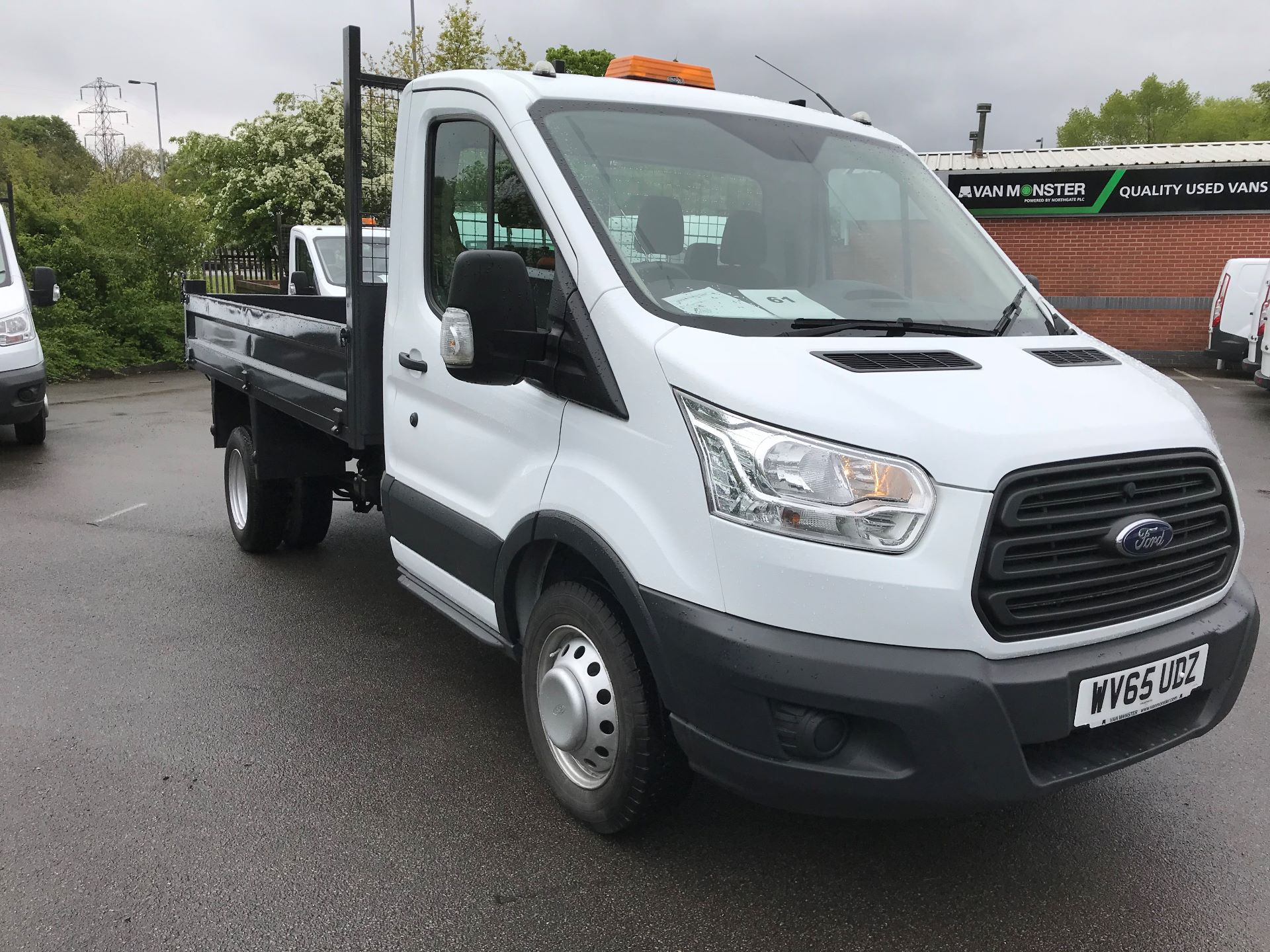2015 Ford Transit  350 L2 SINGLE CAB TIPPER 100PS EURO 5 (WV65UDZ)