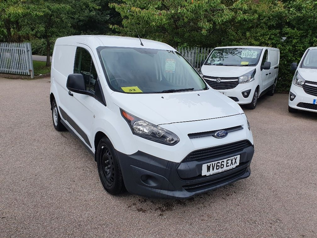 2016 Ford Transit Connect 200 1.5 Tdci 75Ps Van EURO 6 (WV66EXX) Image 1