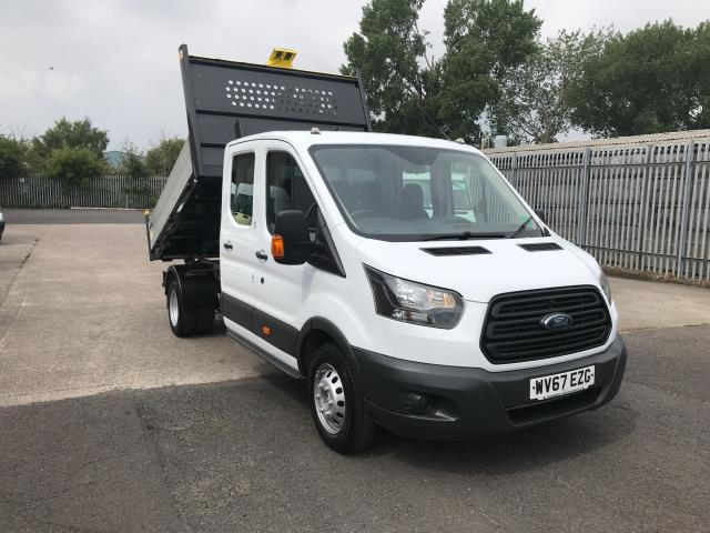 2017 Ford Transit T350 DOUBLE CAB TIPPER 130PS EURO 6 (WV67EZG)