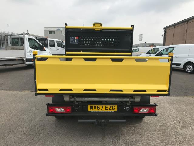 2017 Ford Transit T350 DOUBLE CAB TIPPER 130PS EURO 6 (WV67EZG) Image 18