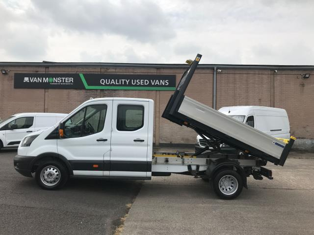 2017 Ford Transit T350 DOUBLE CAB TIPPER 130PS EURO 6 (WV67EZG) Image 6