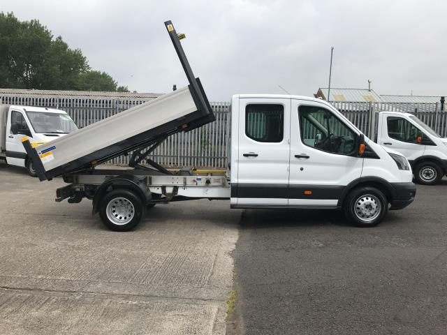 2017 Ford Transit T350 DOUBLE CAB TIPPER 130PS EURO 6 (WV67EZG) Image 5