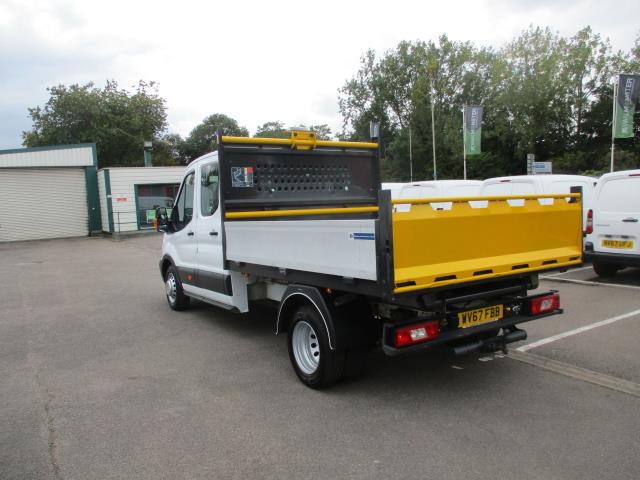 2017 Ford Transit  350 L3 DOUBLE CAB TIPPER 130PS EURO 6 (WV67FBB) Image 6