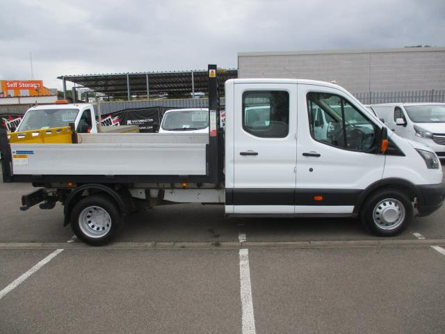 2017 Ford Transit  350 L3 DOUBLE CAB TIPPER 130PS EURO 6 (WV67FBB) Image 2