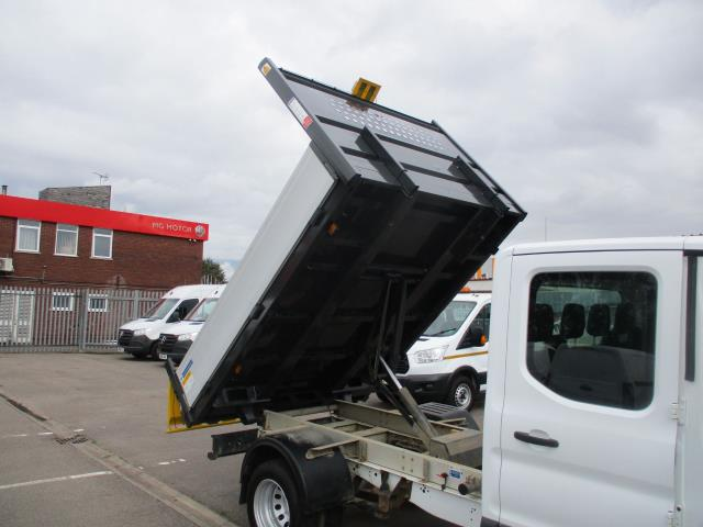 2017 Ford Transit  350 L3 DOUBLE CAB TIPPER 130PS EURO 6 (WV67FBB) Image 29