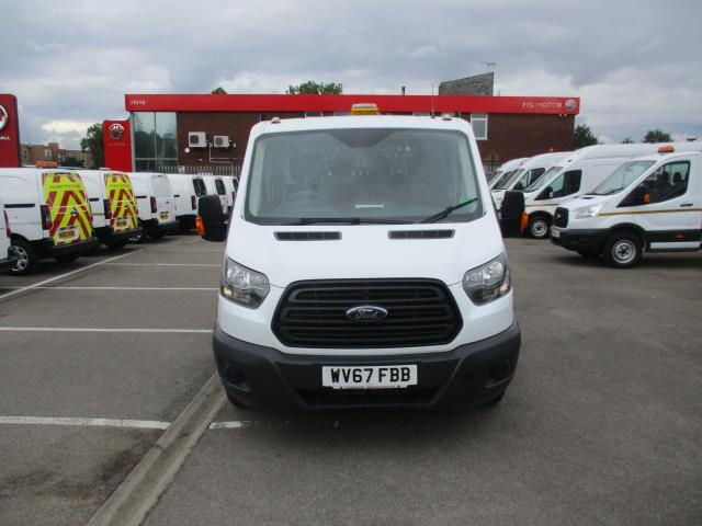 2017 Ford Transit  350 L3 DOUBLE CAB TIPPER 130PS EURO 6 (WV67FBB) Image 10