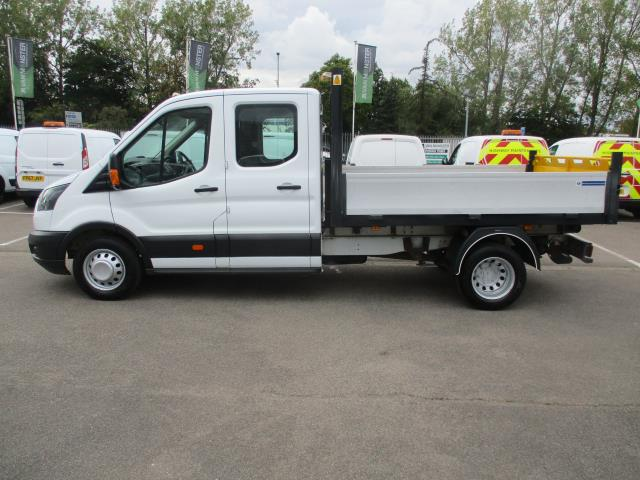 2017 Ford Transit  350 L3 DOUBLE CAB TIPPER 130PS EURO 6 (WV67FBB) Image 7