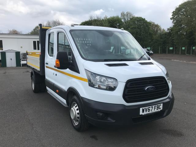 2017 Ford Transit 2.0 TDCI 130PS  DOUBLE CAB TIPPER EURO 6 (WV67FBC)