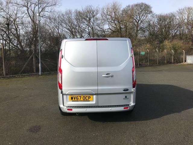 2017 Ford Transit Custom 2.0 Tdci 130PS LOW ROOF LIMITED EURO 6 (WV67OCP) Image 7