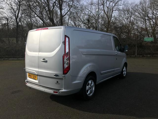 2017 Ford Transit Custom 2.0 Tdci 130PS LOW ROOF LIMITED EURO 6 (WV67OCP) Image 9