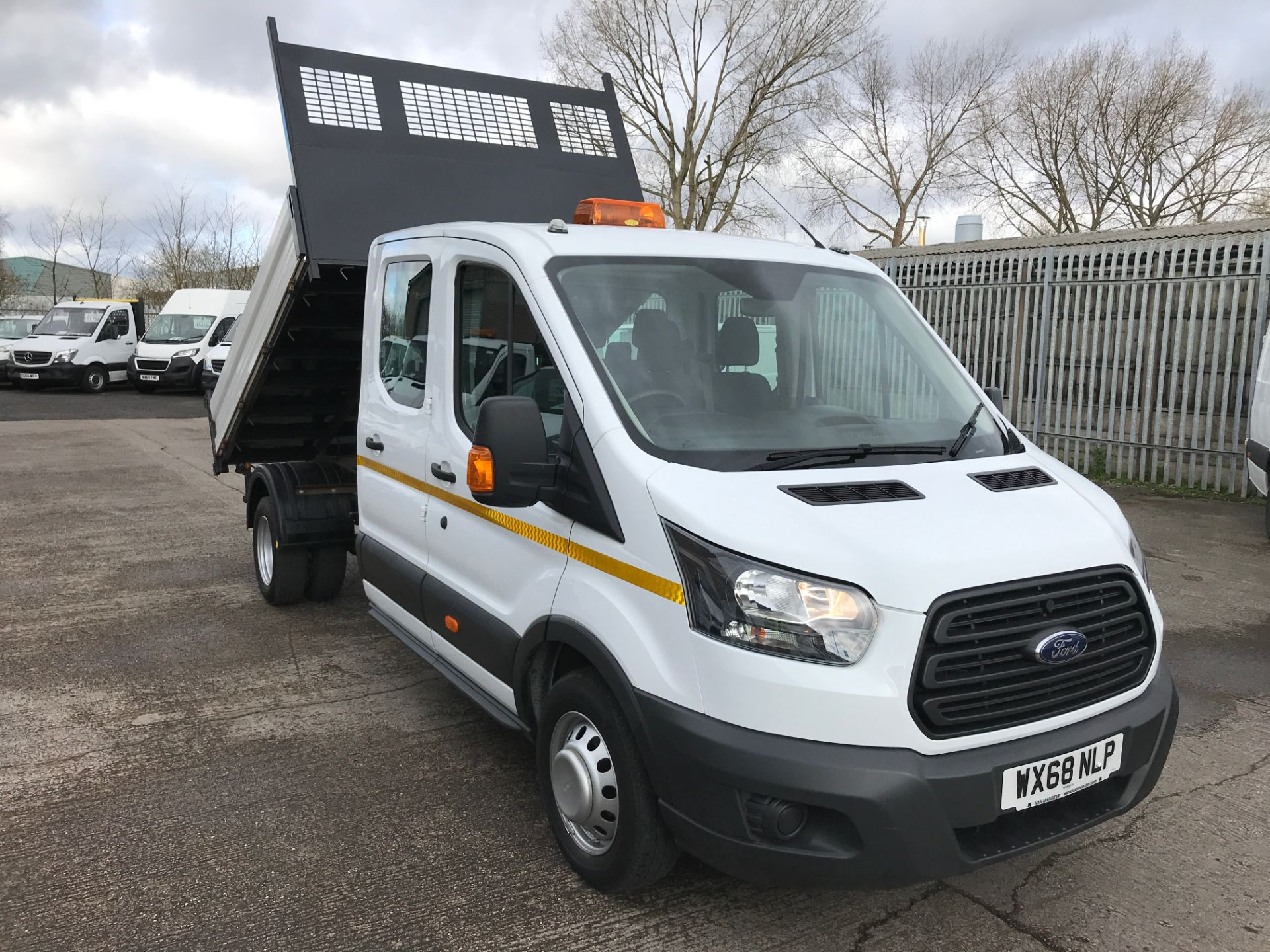 2018 Ford Transit T350 DOUBLE CAB TIPPER 130PS EURO 5 (WX68NLP)