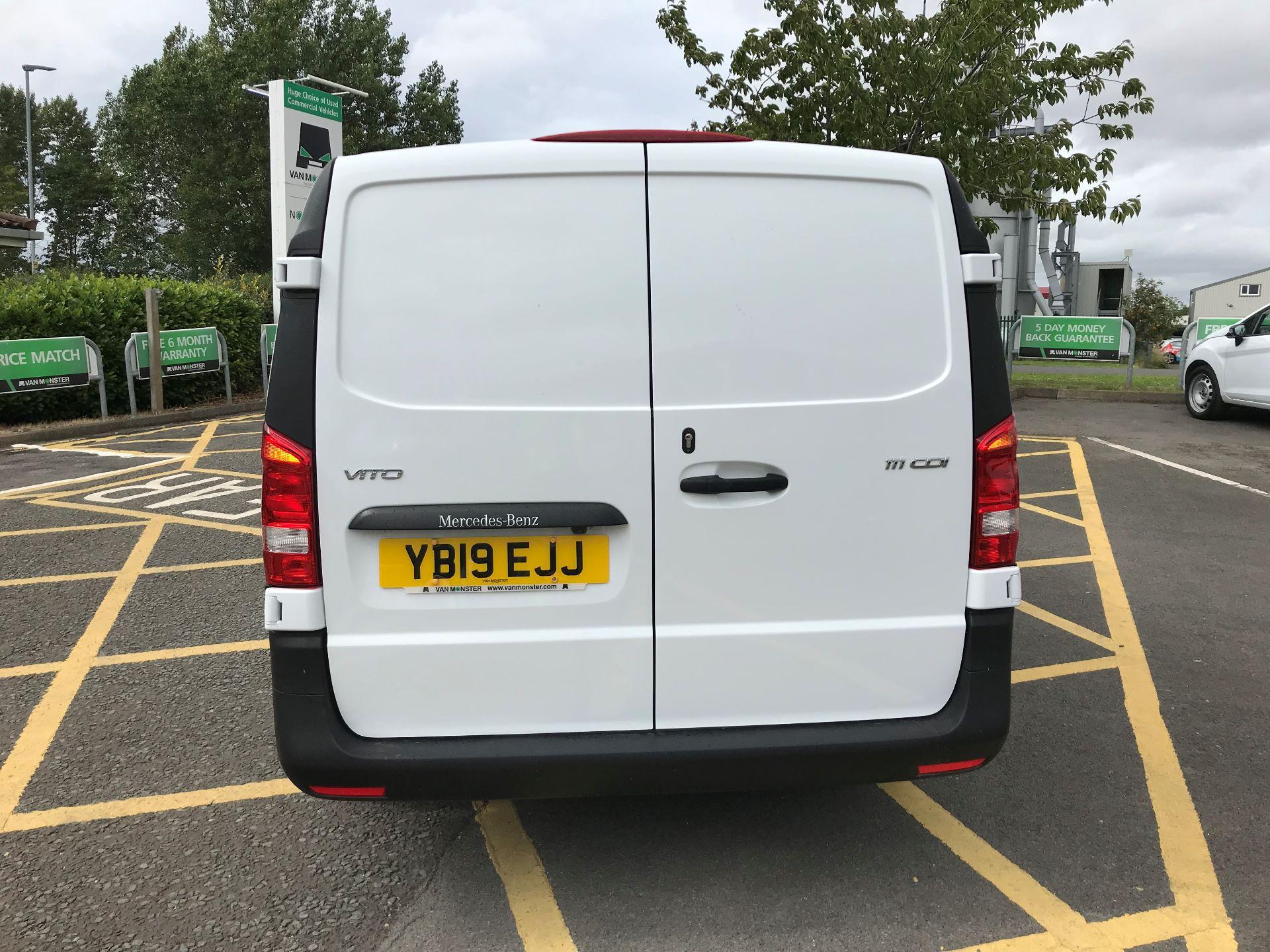 2019 Mercedes-Benz Vito 111Cdi Van (YB19EJJ) Image 5