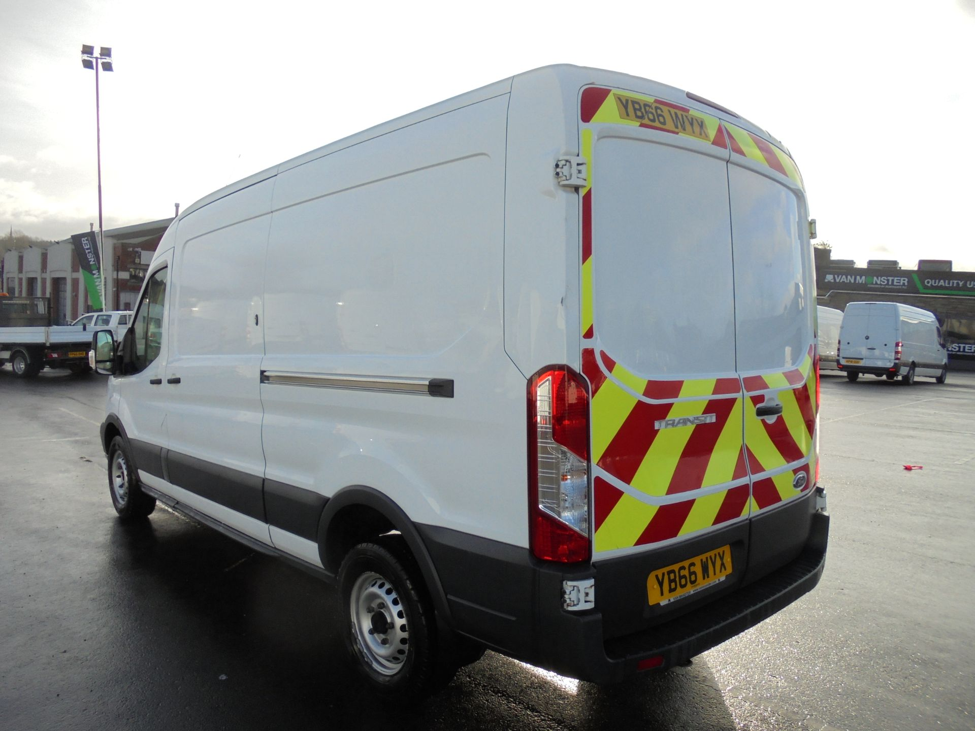 2016 Ford Transit 350 2.2 Tdci 125Ps L3 H2 Van Aftermarket Alarm and Security Locks (YB66WYX) Image 5