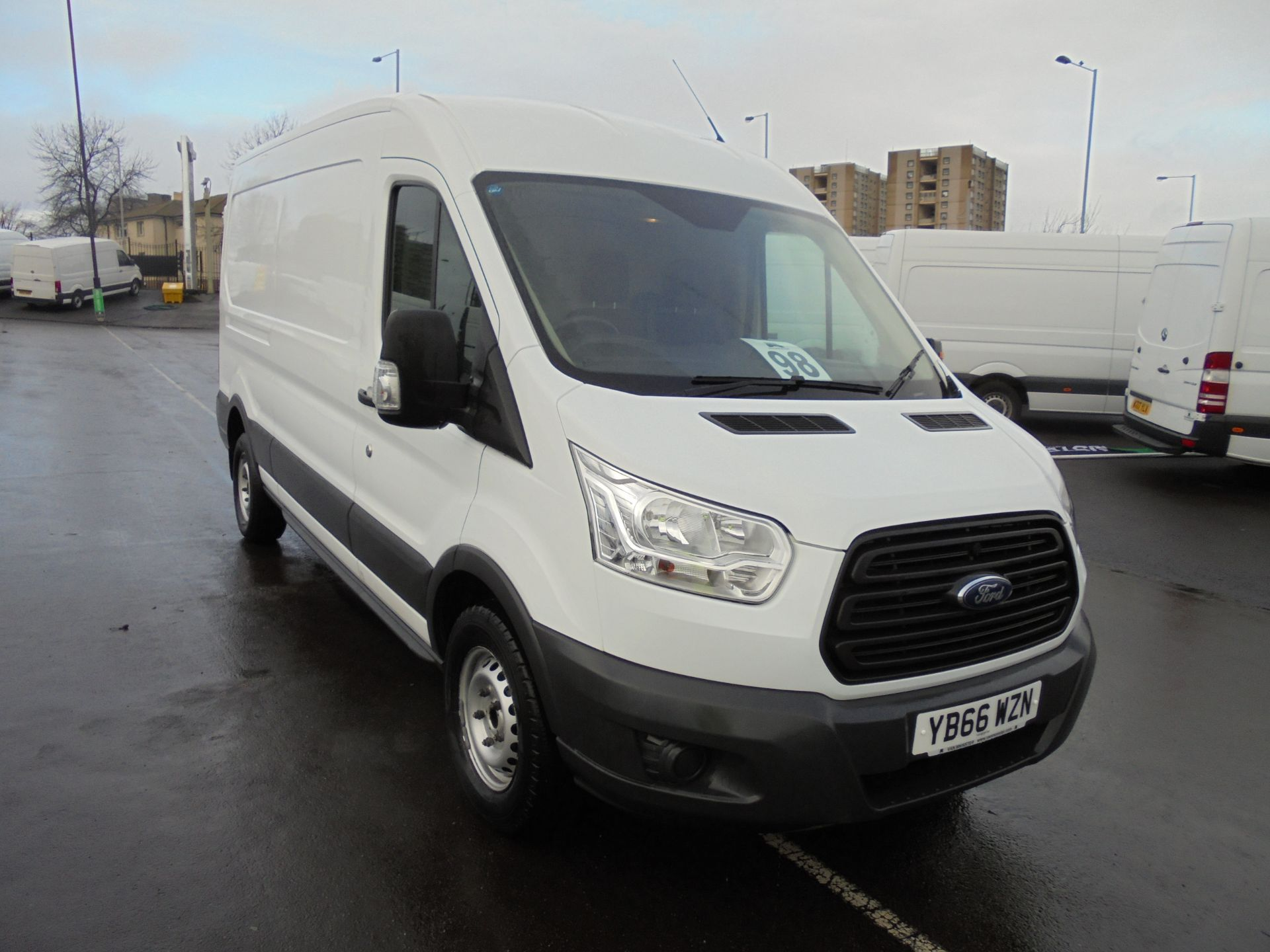 2016 Ford Transit 350 2.2 Tdci 125Ps L3 H2 Van Aftermarket Alarm and Security Locks (YB66WZN)