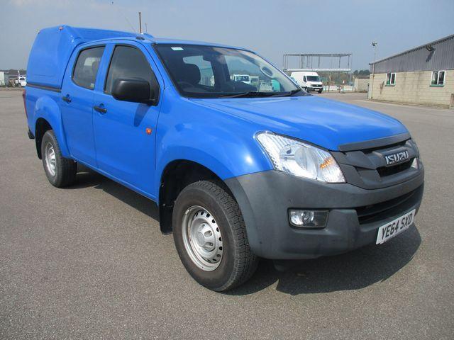 2014 Isuzu D-Max DOUBLE CAB 4X4 2.5 TD EURO 5. AIR CON.  VINYL WRAPPED BLUE (YE64SXD)