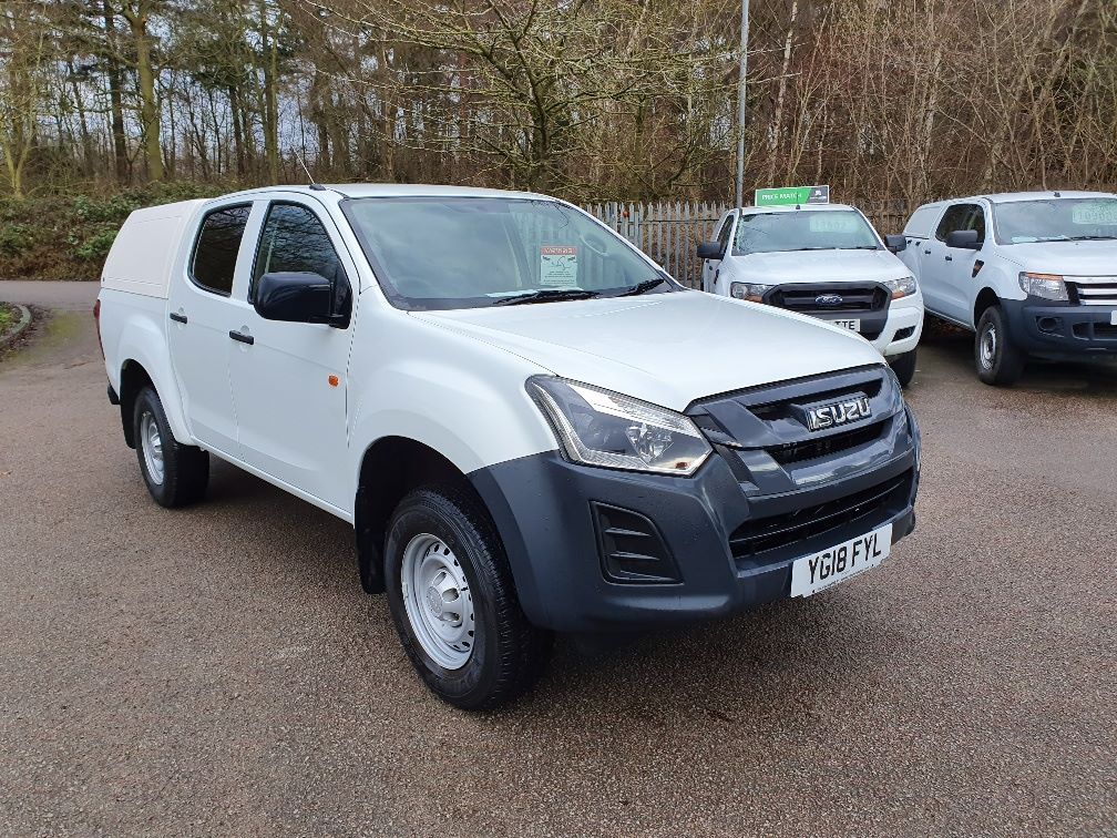 2018 Isuzu D-Max Double Cab Pick Up XL 1.9CC D/CAB 163 EURO 6 (YG18FYL)