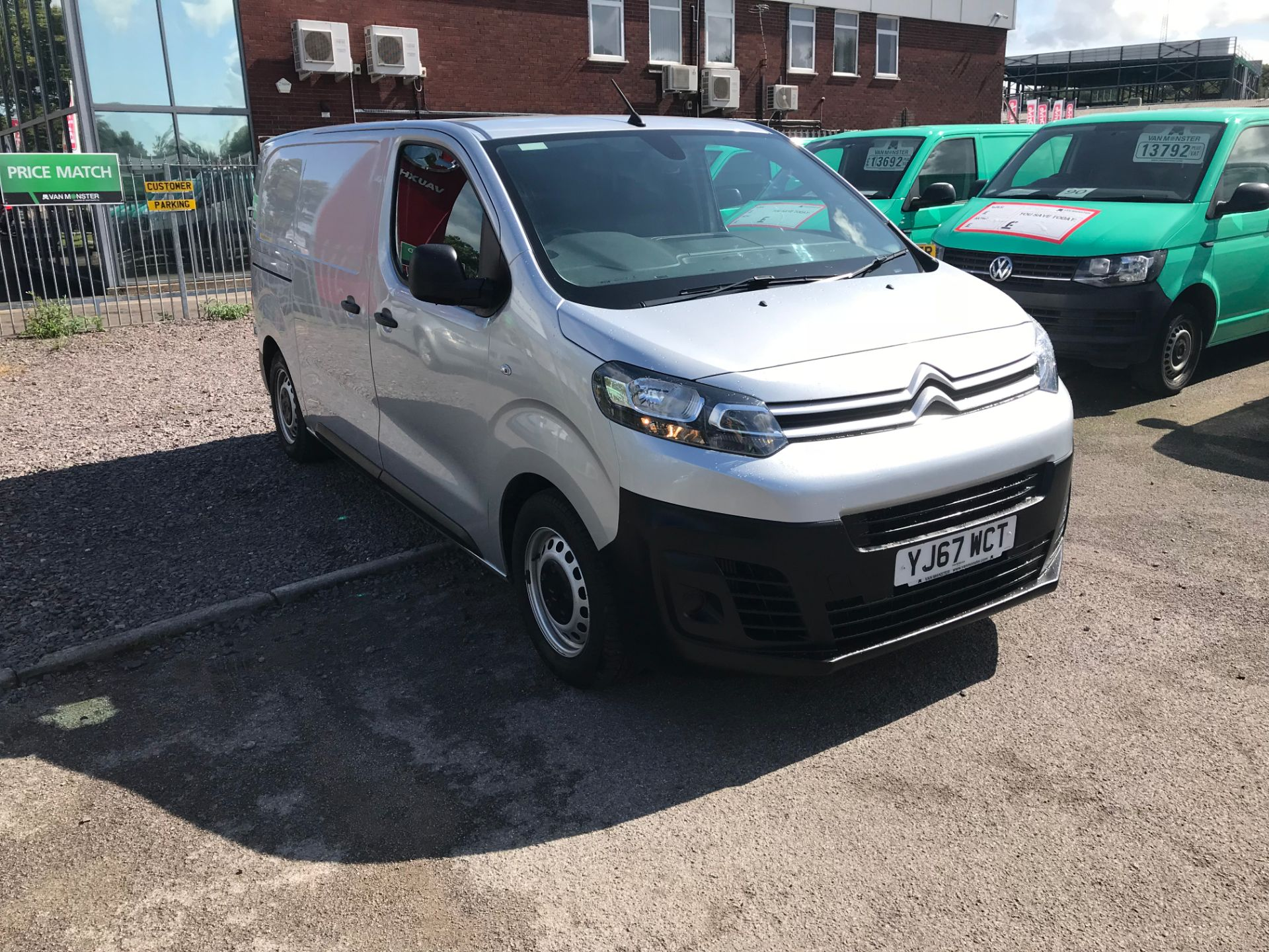 2017 Citroen Dispatch 1000 1.6 Bluehdi 95 Van Enterprise EURO 6 (YJ67WCT)