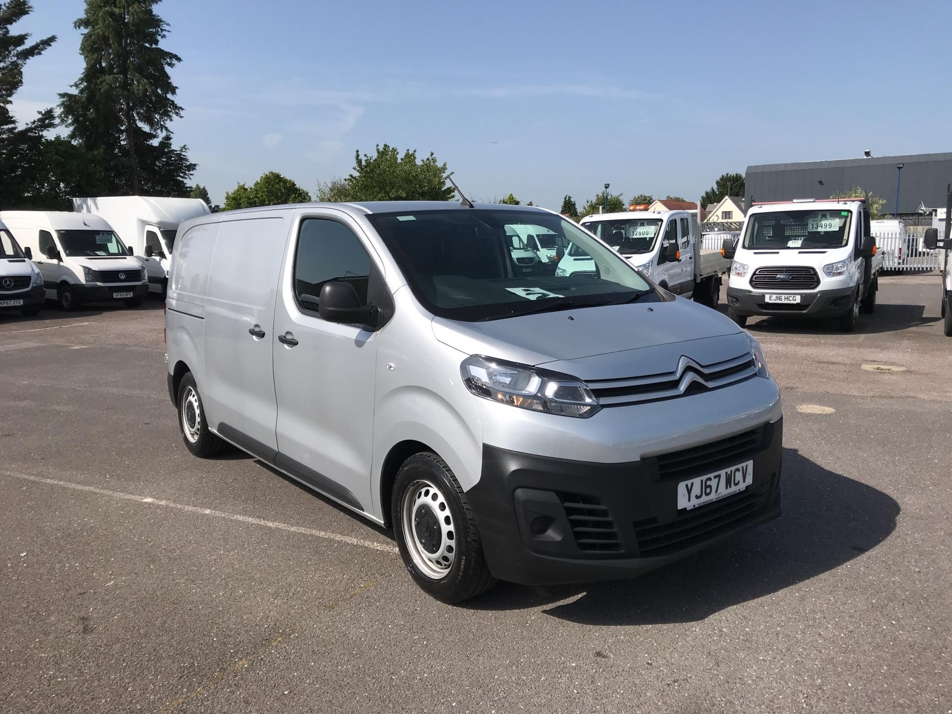 2017 Citroen Dispatch 1000 1.6 Bluehdi 95 Van Enterprise Euro 6 (YJ67WCV) Image 1