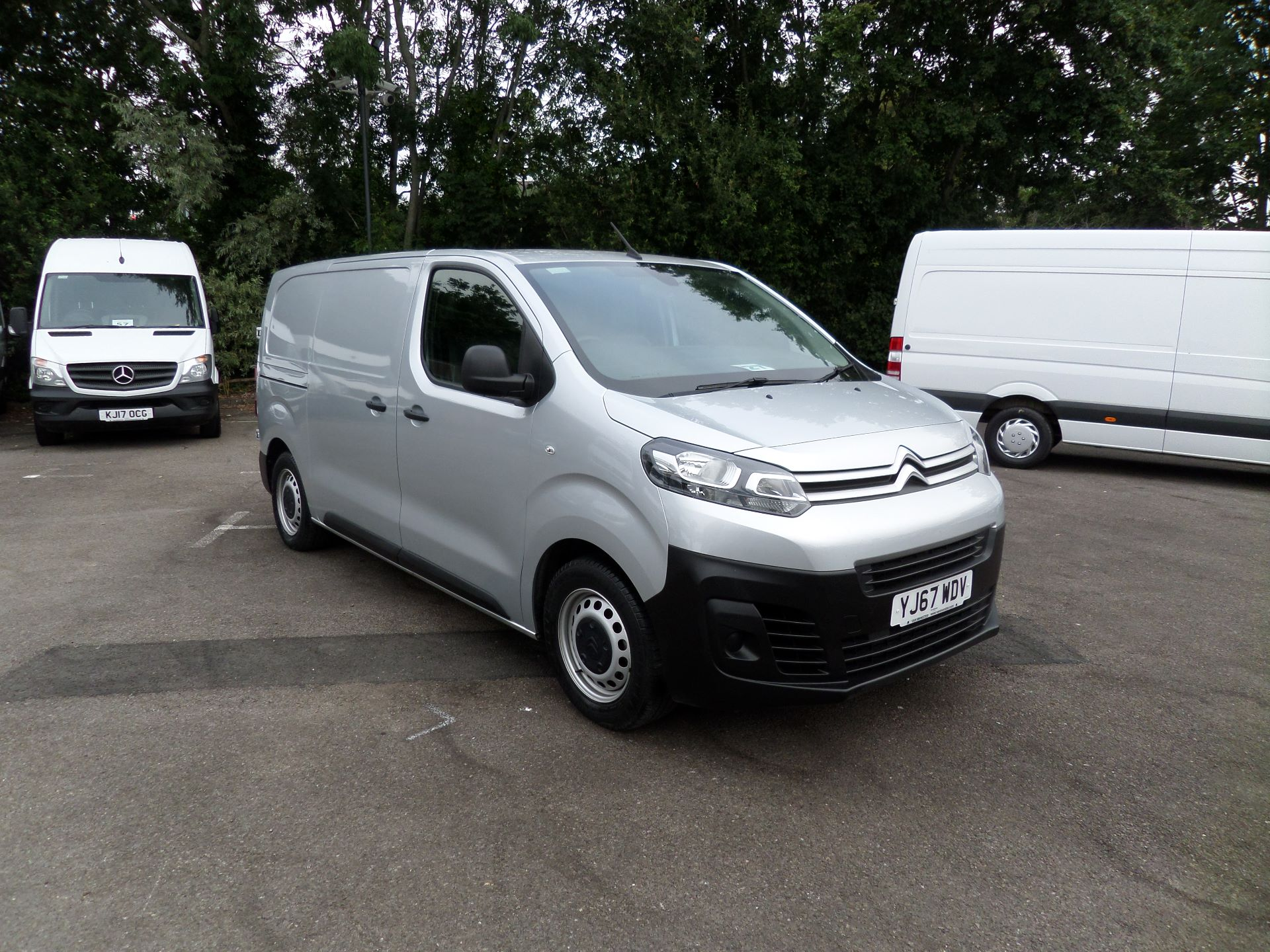 2017 Citroen Dispatch 1000 1.6 Bluehdi 95 Van Enterprise Euro 6 (YJ67WDV)