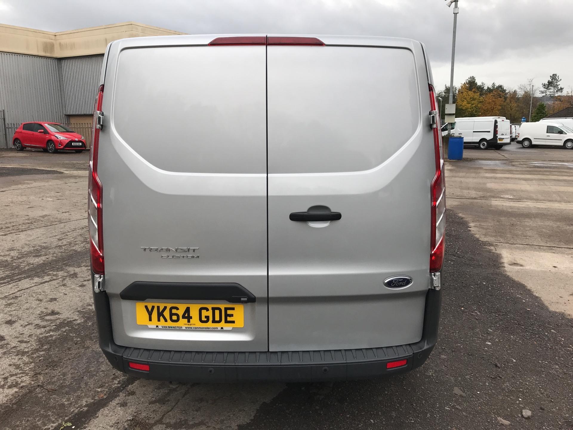 2014 Ford Transit Custom 330 L2 DIESEL FWD 2.2 TDCI 125PS LOW ROOF TREND VAN EURO 5 (YK64GDE) Image 4
