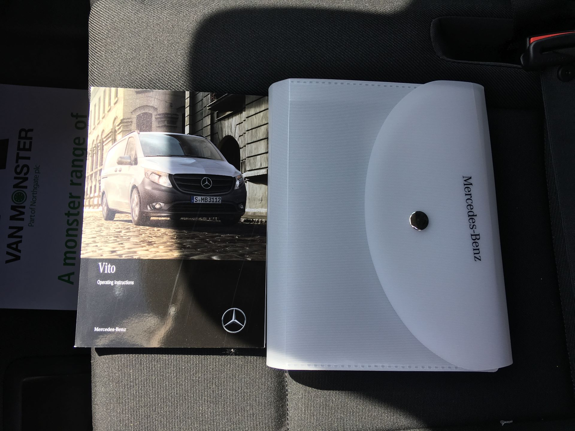 2019 Mercedes-Benz Vito LONG 111 CDI VAN EURO 5/6 (YM19HFY) Image 23