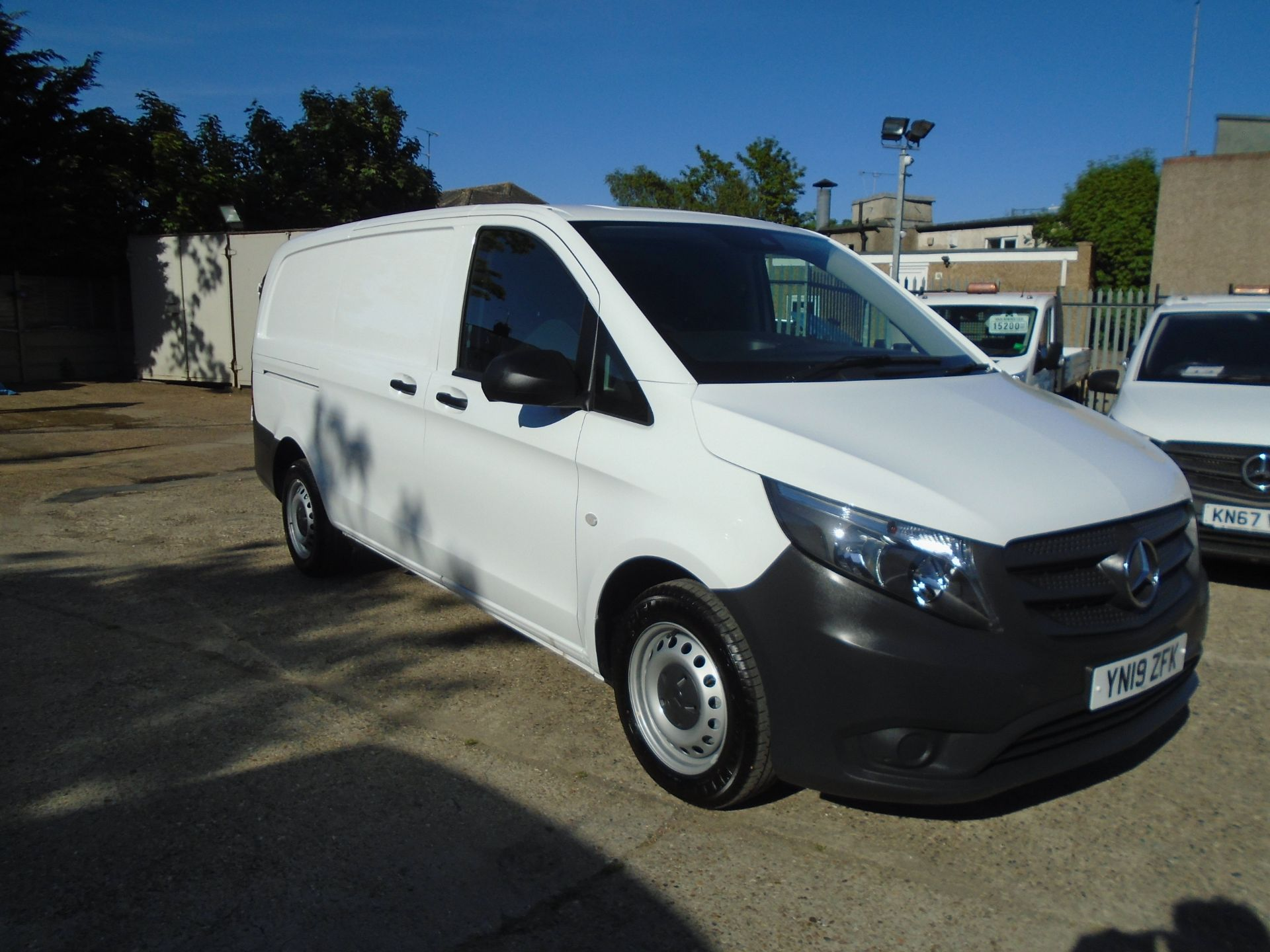 2019 Mercedes-Benz Vito 111Cdi Van Euro 6 Massive specification A/C Air Con, Delivery Miles Only (YN19ZFK)