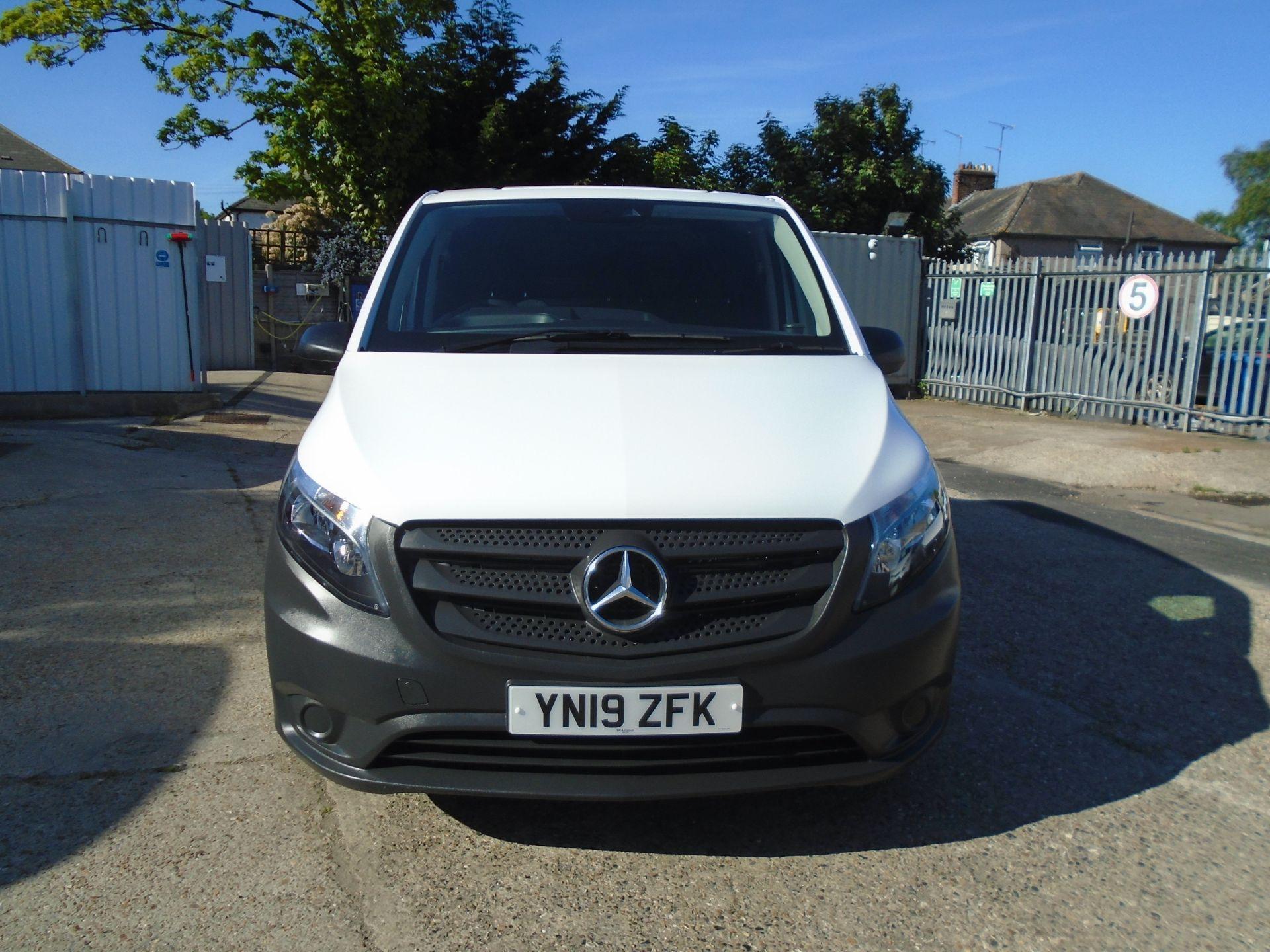 2019 Mercedes-Benz Vito 111Cdi Van Euro 6 Massive specification A/C Air Con, Delivery Miles Only (YN19ZFK) Image 2