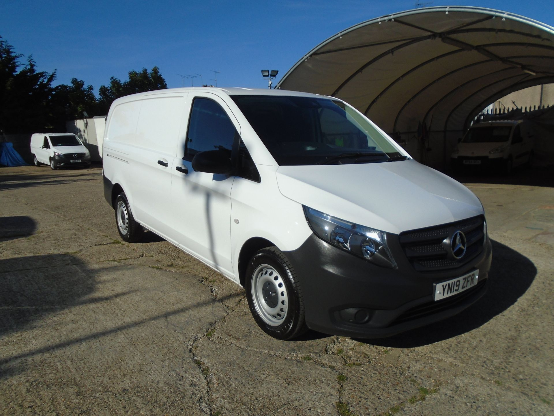 2019 Mercedes-Benz Vito  111Cdi Van Euro 6 Massive specification A/C Air Con, Delivery Miles Only (YN19ZFR) Image 1