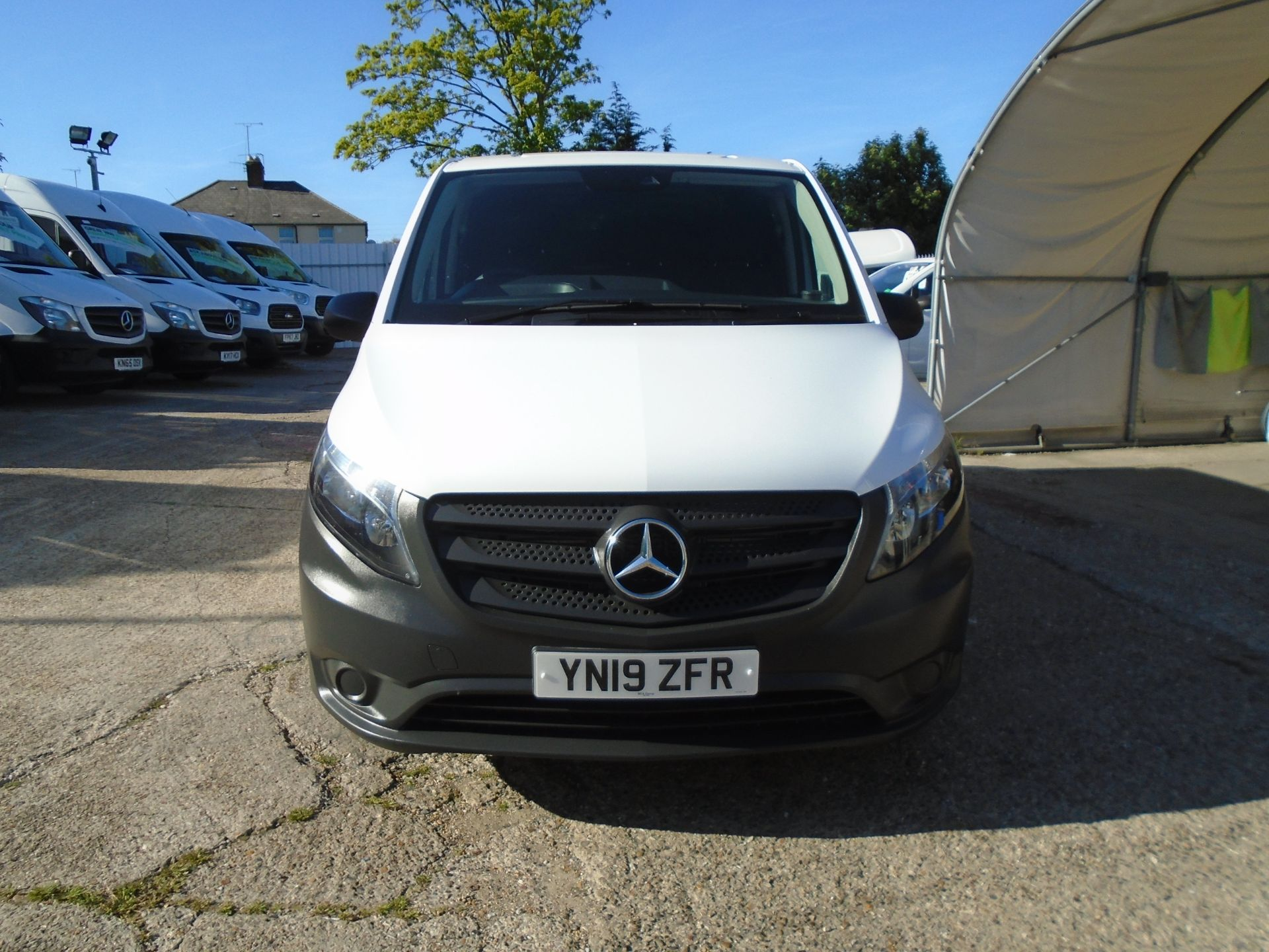 2019 Mercedes-Benz Vito  111Cdi Van Euro 6 Massive specification A/C Air Con, Delivery Miles Only (YN19ZFR) Image 2