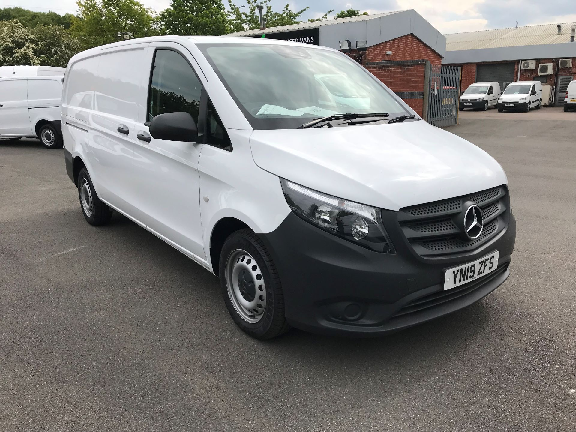 2019 Mercedes-Benz Vito 111Cdi Van Euro 6 Massive specification A/C (YN19ZFS)