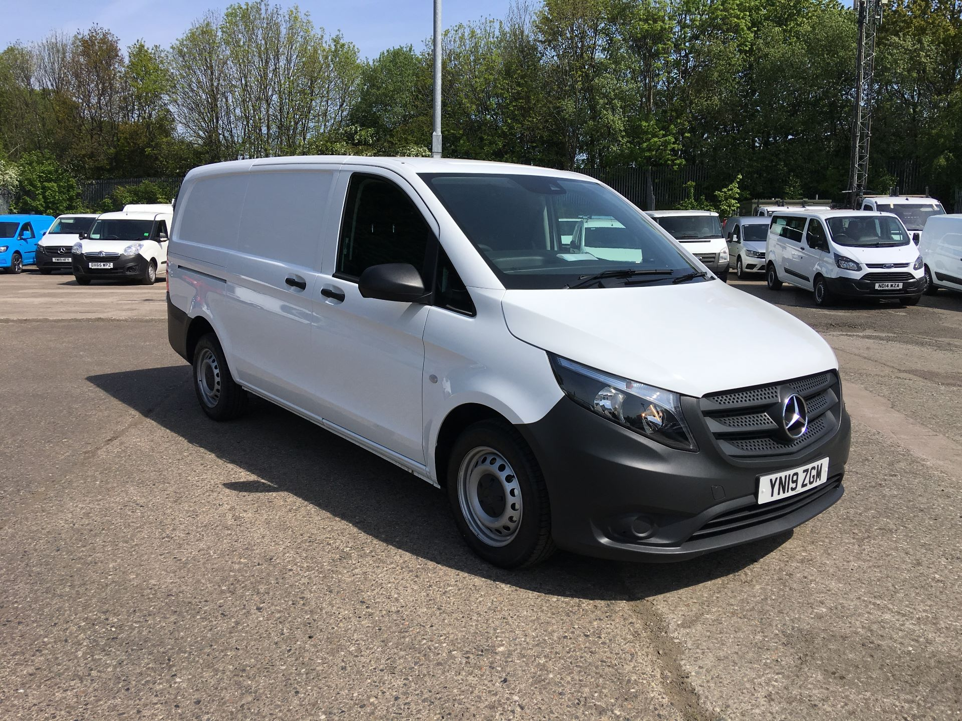 2019 Mercedes-Benz Vito LONG 111 CDI VAN EURO 5/6