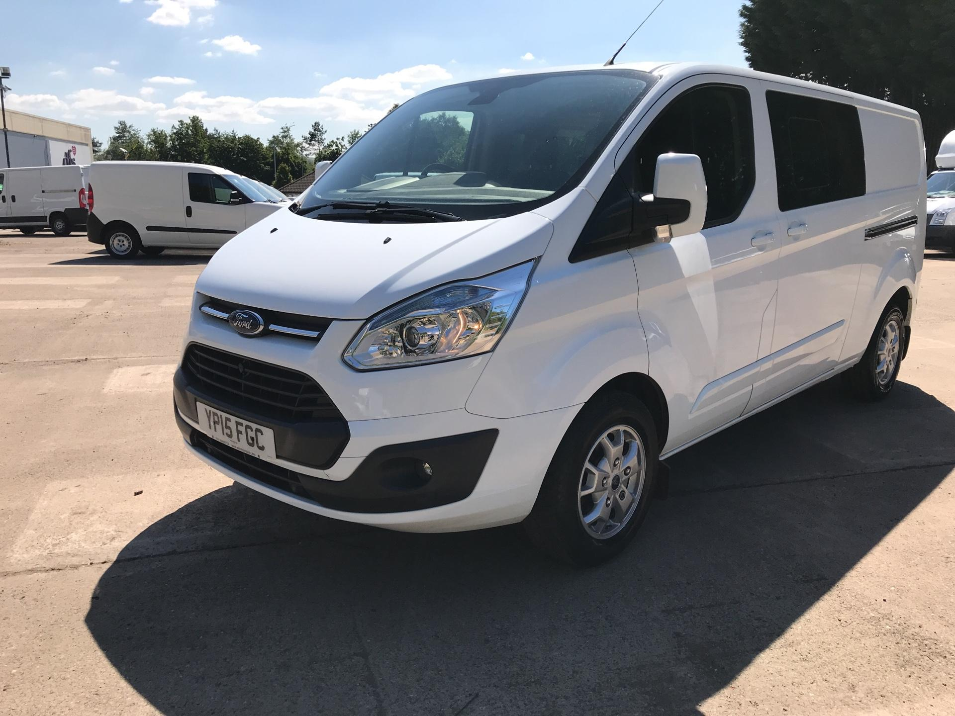 2015 Ford Transit Custom 2.2 Tdci 125Ps Low Roof D/Cab Limited Van (YP15FGC) Image 7