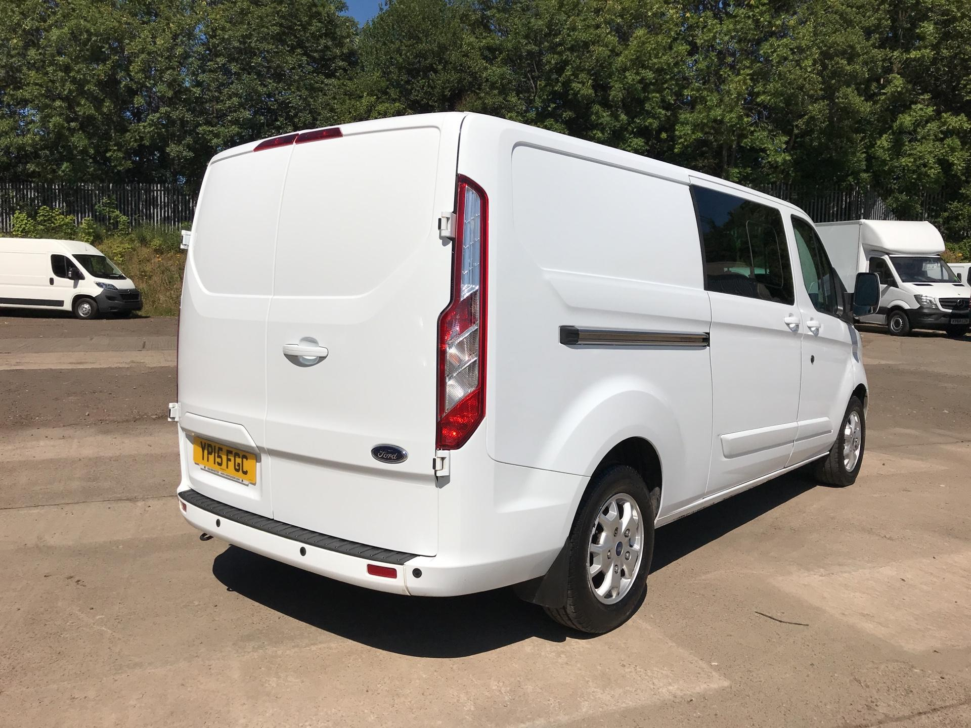 2015 Ford Transit Custom 2.2 Tdci 125Ps Low Roof D/Cab Limited Van (YP15FGC) Image 3