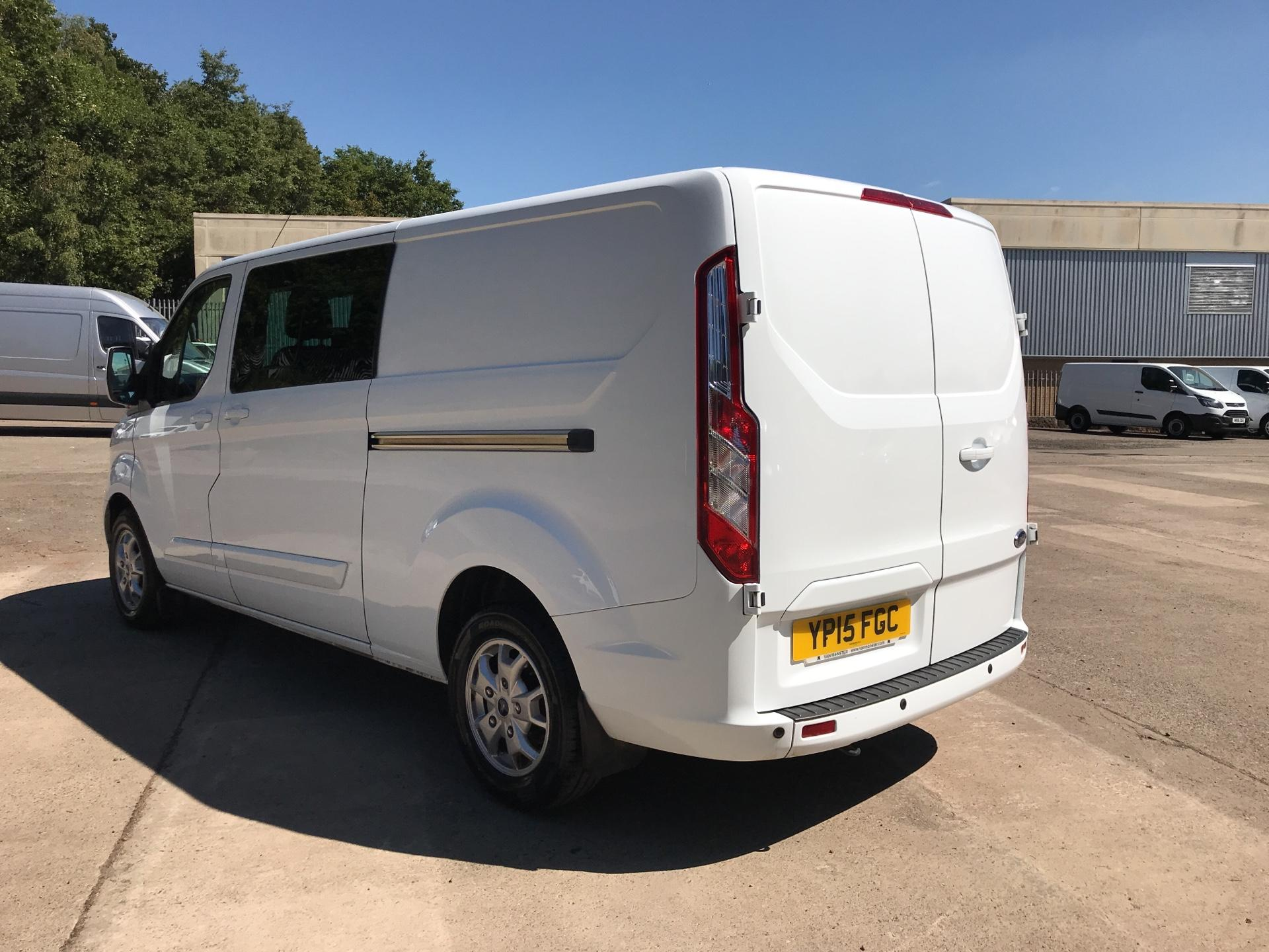 2015 Ford Transit Custom 2.2 Tdci 125Ps Low Roof D/Cab Limited Van (YP15FGC) Image 5