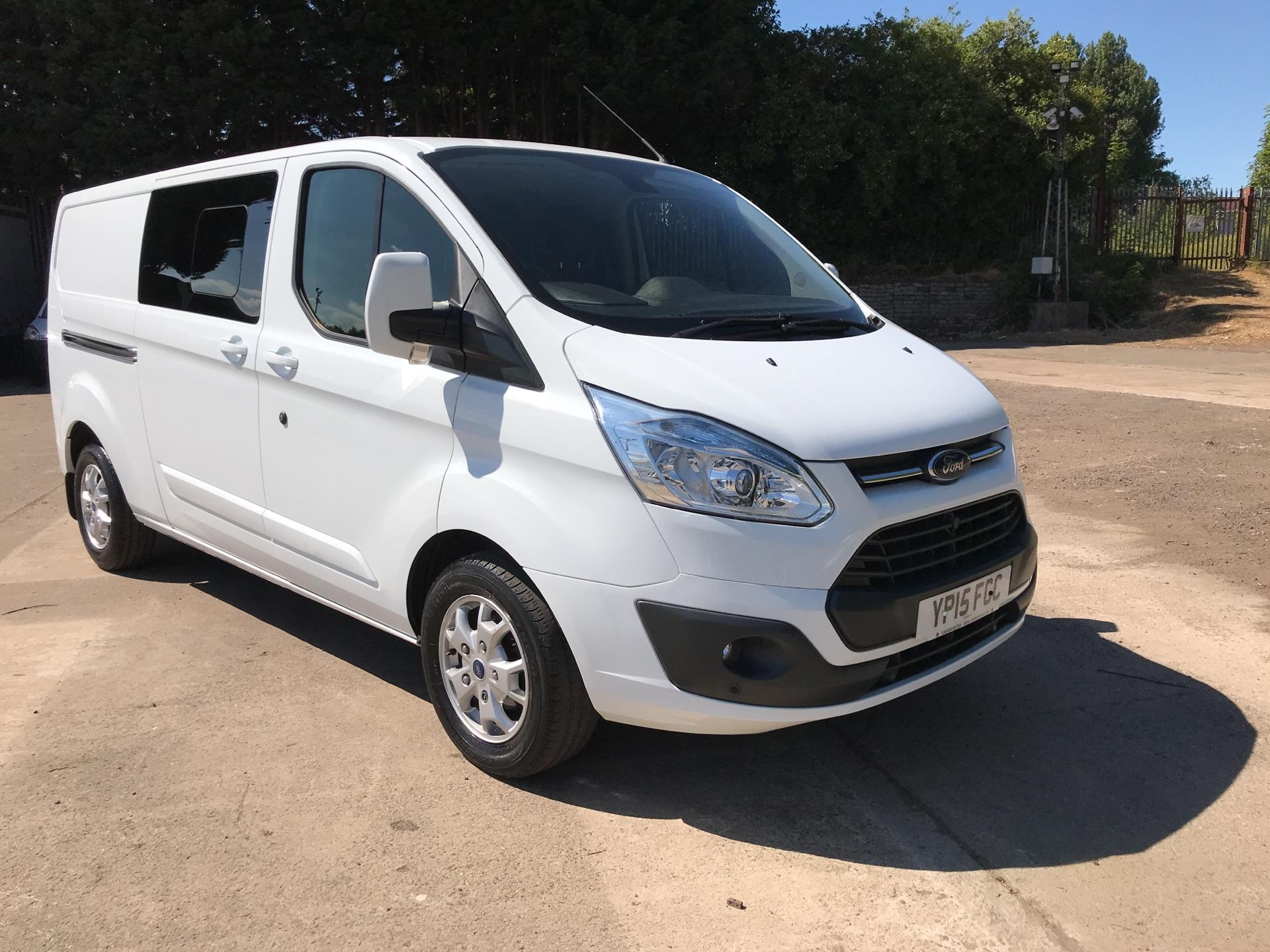 2015 Ford Transit Custom 2.2 Tdci 125Ps Low Roof D/Cab Limited Van (YP15FGC) Image 1