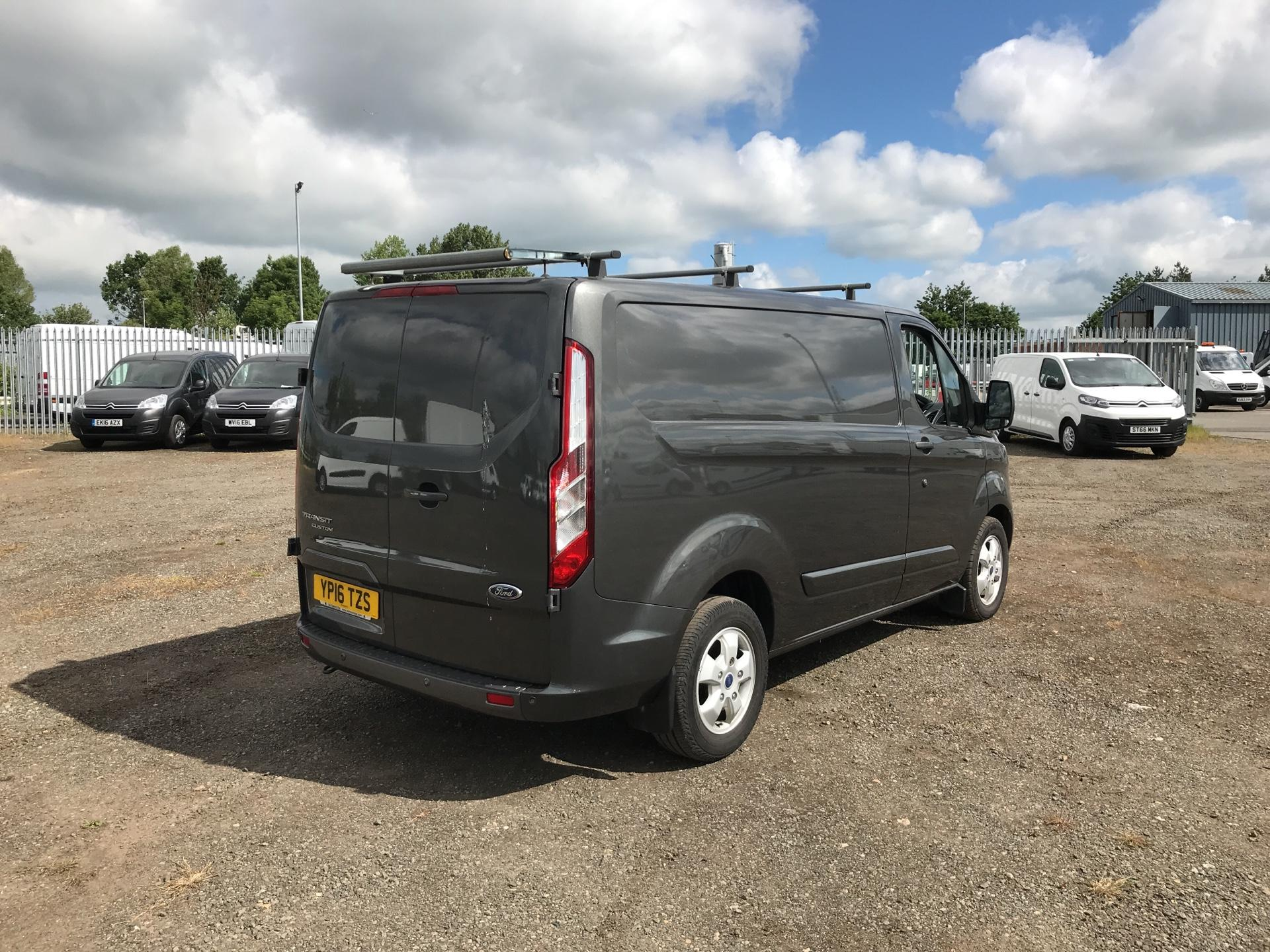 2016 Ford Transit Custom 290 L1 DIESEL FWD 2.2 TDCI 125PS LOW ROOF LIMITED VAN EURO 5 (YP16TZS) Image 3