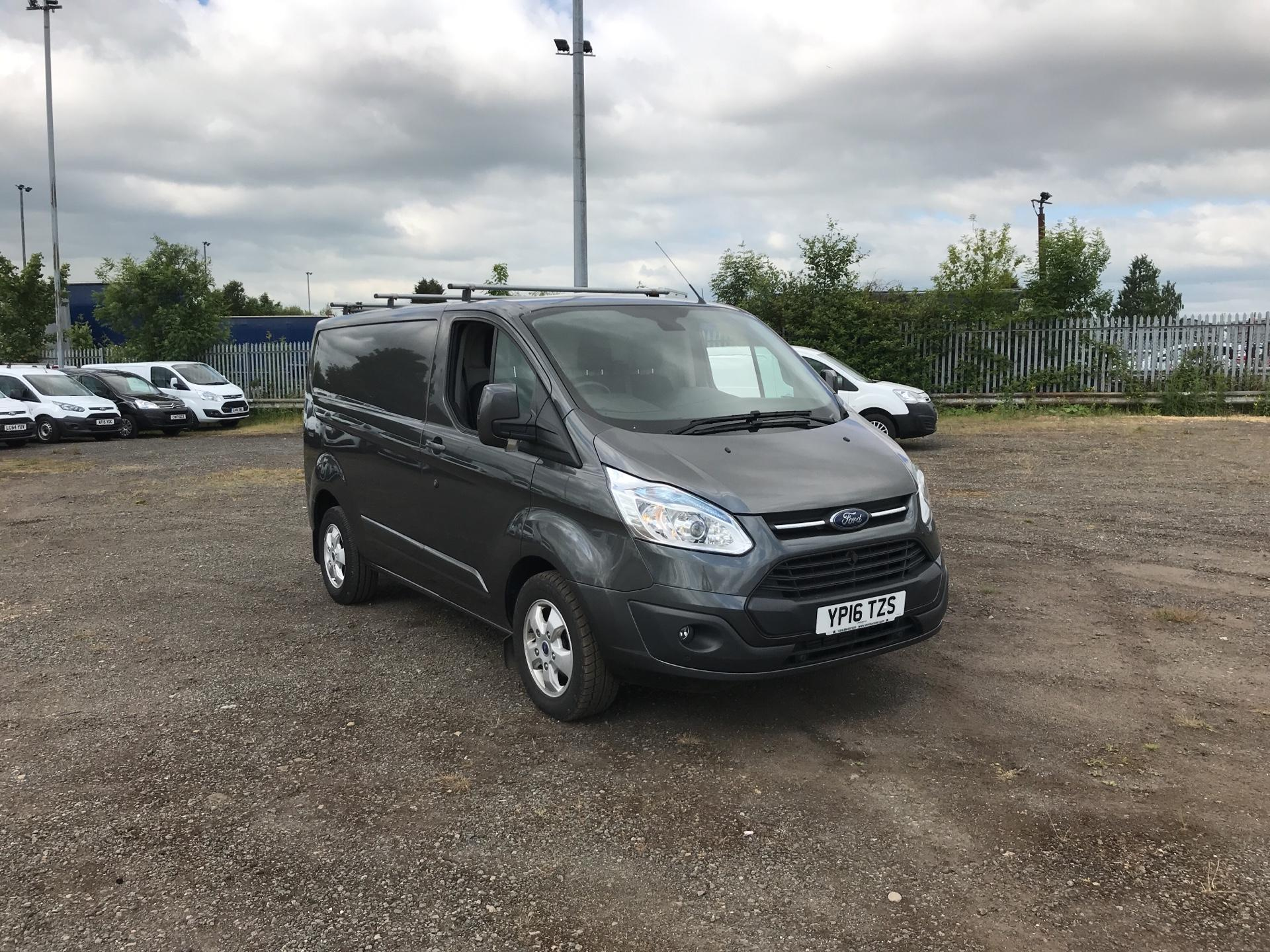 2016 Ford Transit Custom 290 L1 DIESEL FWD 2.2 TDCI 125PS LOW ROOF LIMITED VAN EURO 5 (YP16TZS) Image 1
