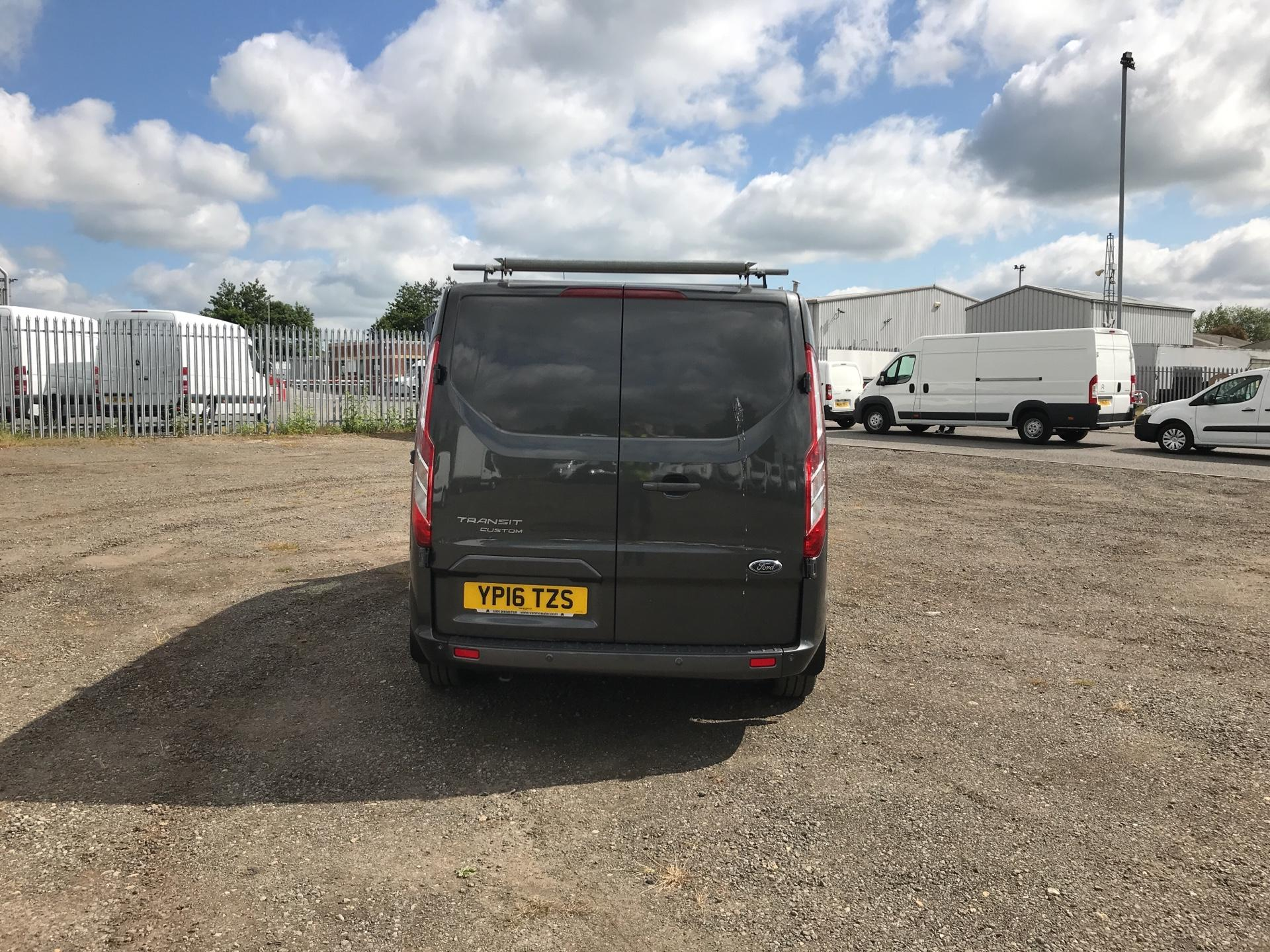 2016 Ford Transit Custom 290 L1 DIESEL FWD 2.2 TDCI 125PS LOW ROOF LIMITED VAN EURO 5 (YP16TZS) Image 4