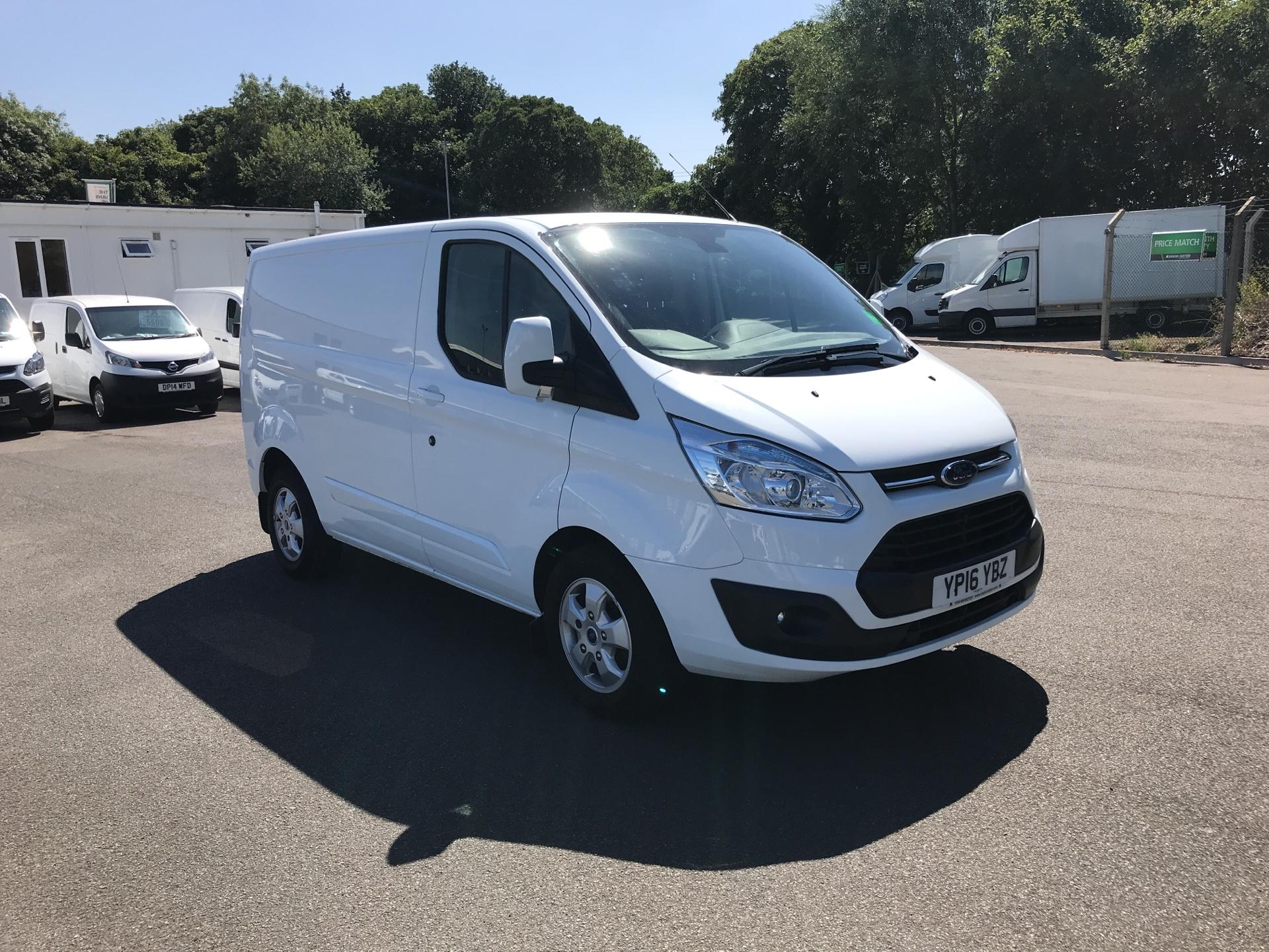 2016 Ford Transit Custom 2.2 TDCI 125PS LOW ROOF LIMITED VAN  (YP16YBZ)