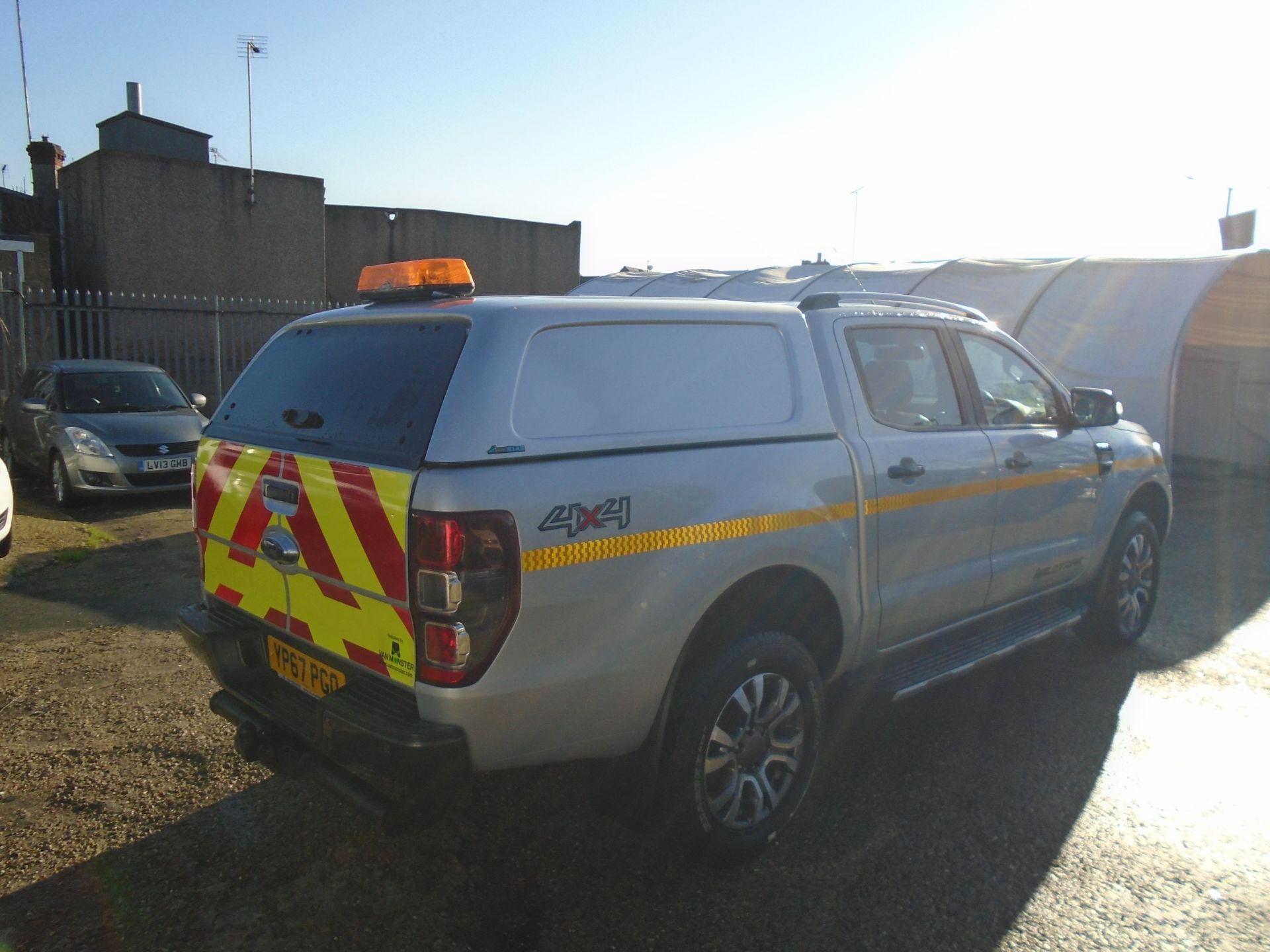 2017 Ford Ranger Pick Up Double Cab Wildtrak 3.2 Tdci 200 (YP67PGO) Image 4