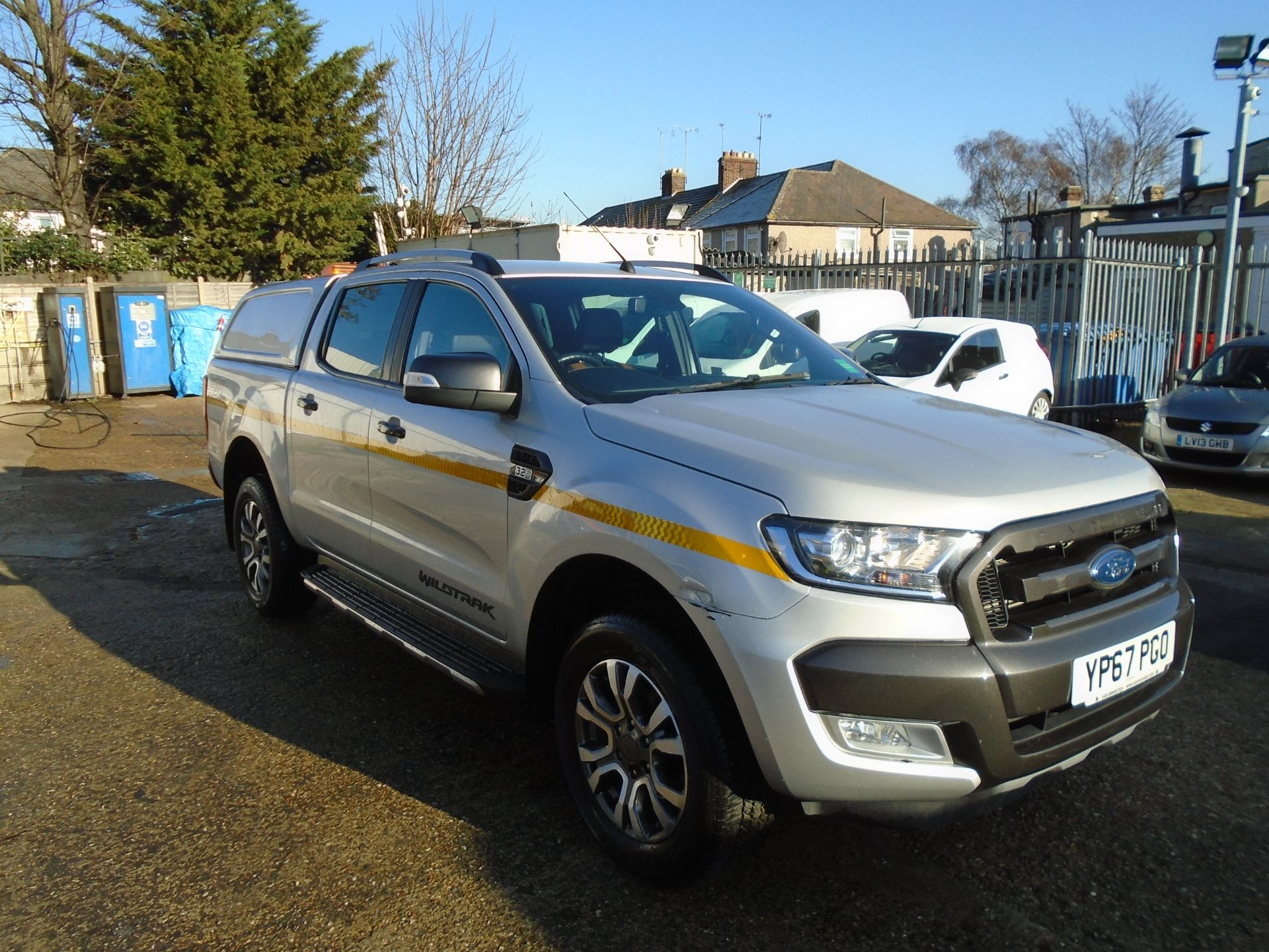 2017 Ford Ranger Pick Up Double Cab Wildtrak 3.2 Tdci 200 (YP67PGO)