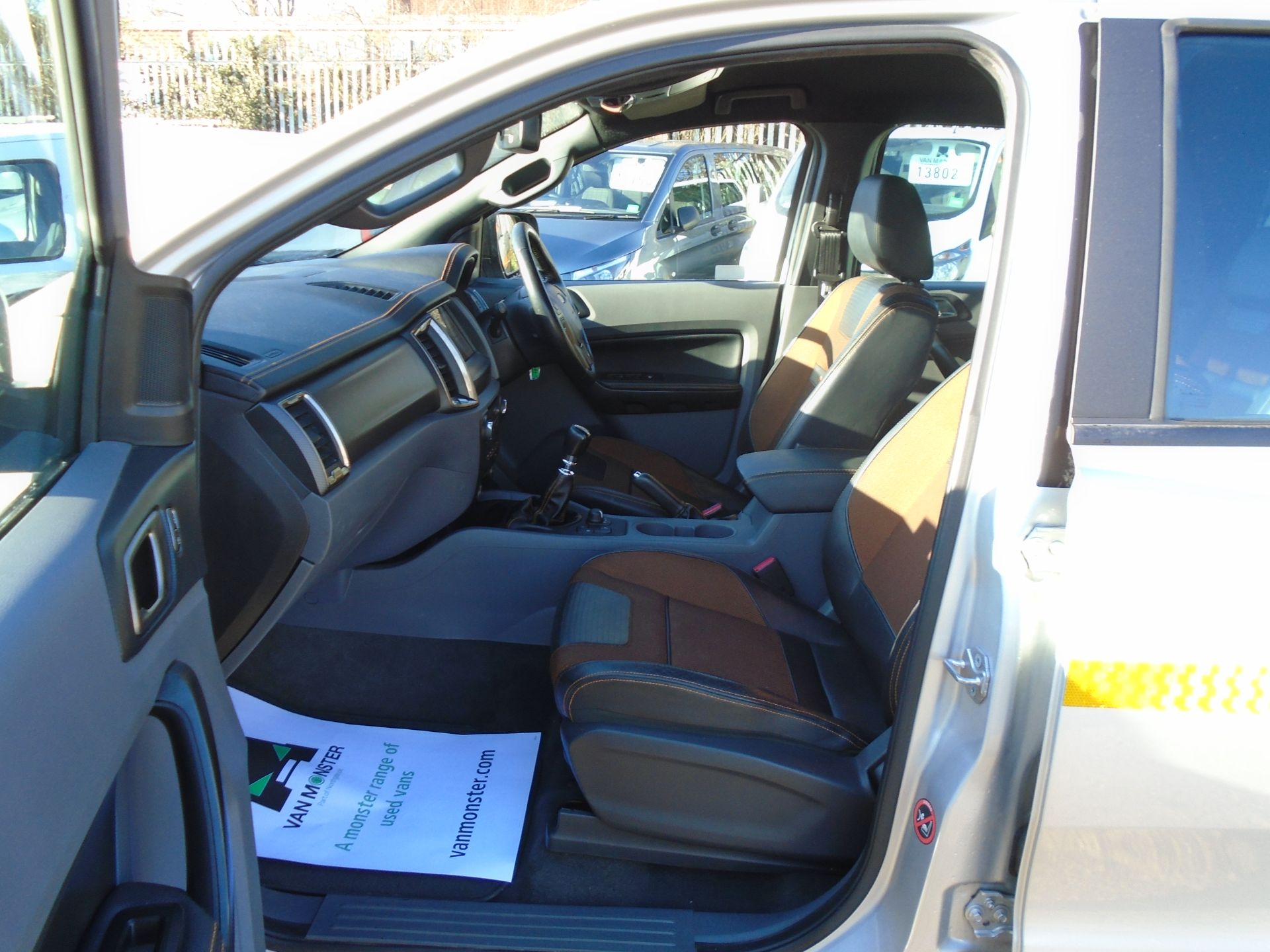 2017 Ford Ranger Pick Up Double Cab Wildtrak 3.2 Tdci 200 (YP67PGO) Image 10