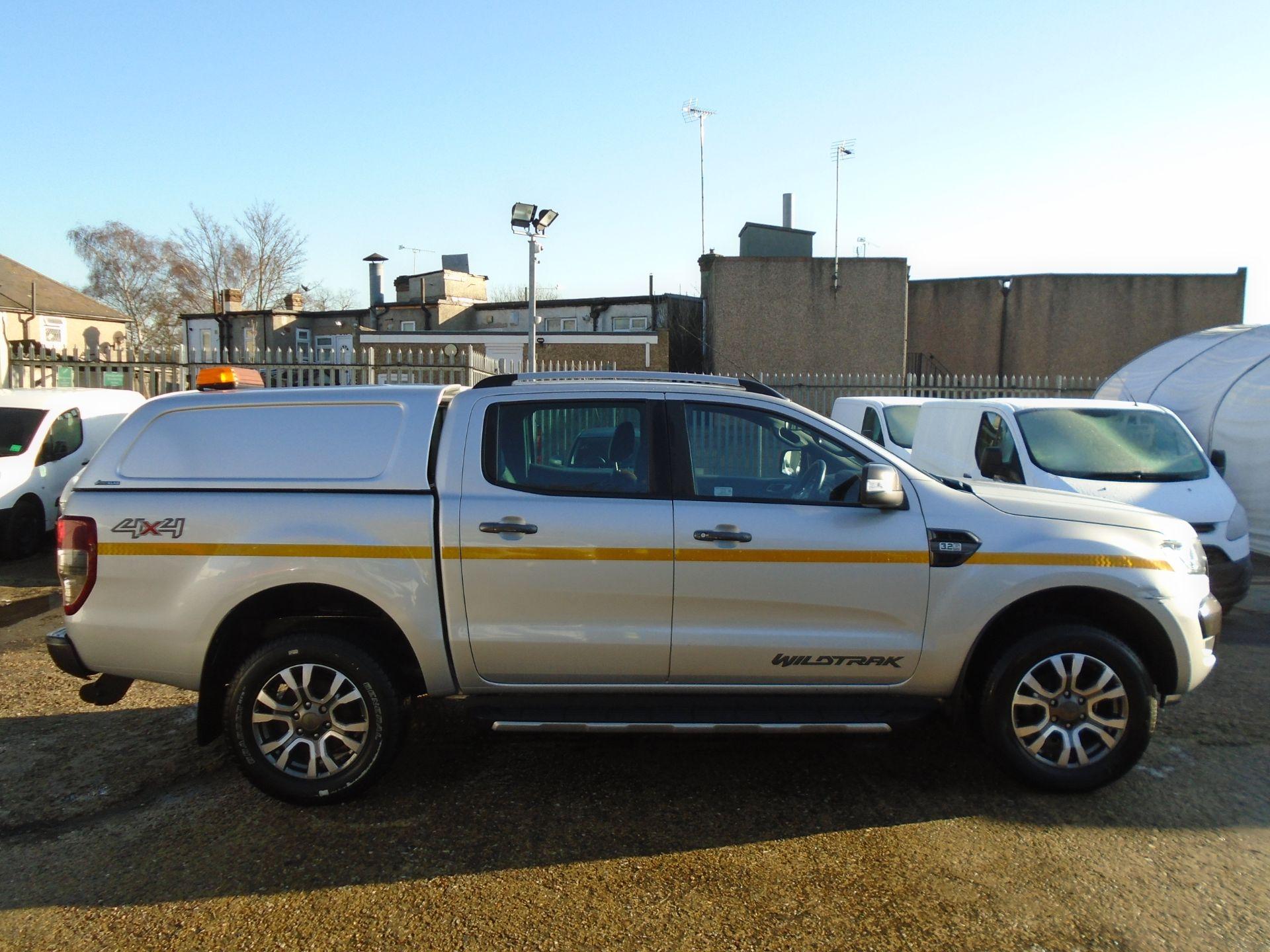 2017 Ford Ranger Pick Up Double Cab Wildtrak 3.2 Tdci 200 (YP67PGO) Image 7