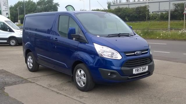 2017 Ford Transit Custom 2.0 Tdci 130Ps Low Roof Limited Van Euro 6 (YR17DHF) Image 1
