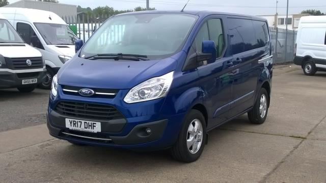 2017 Ford Transit Custom 2.0 Tdci 130Ps Low Roof Limited Van Euro 6 (YR17DHF) Image 3