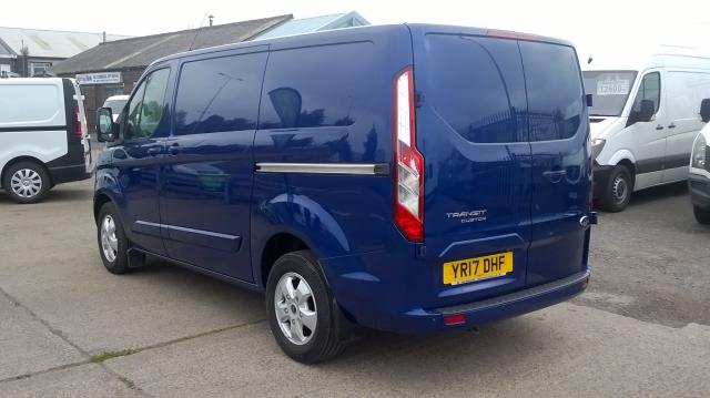 2017 Ford Transit Custom 2.0 Tdci 130Ps Low Roof Limited Van Euro 6 (YR17DHF) Image 7