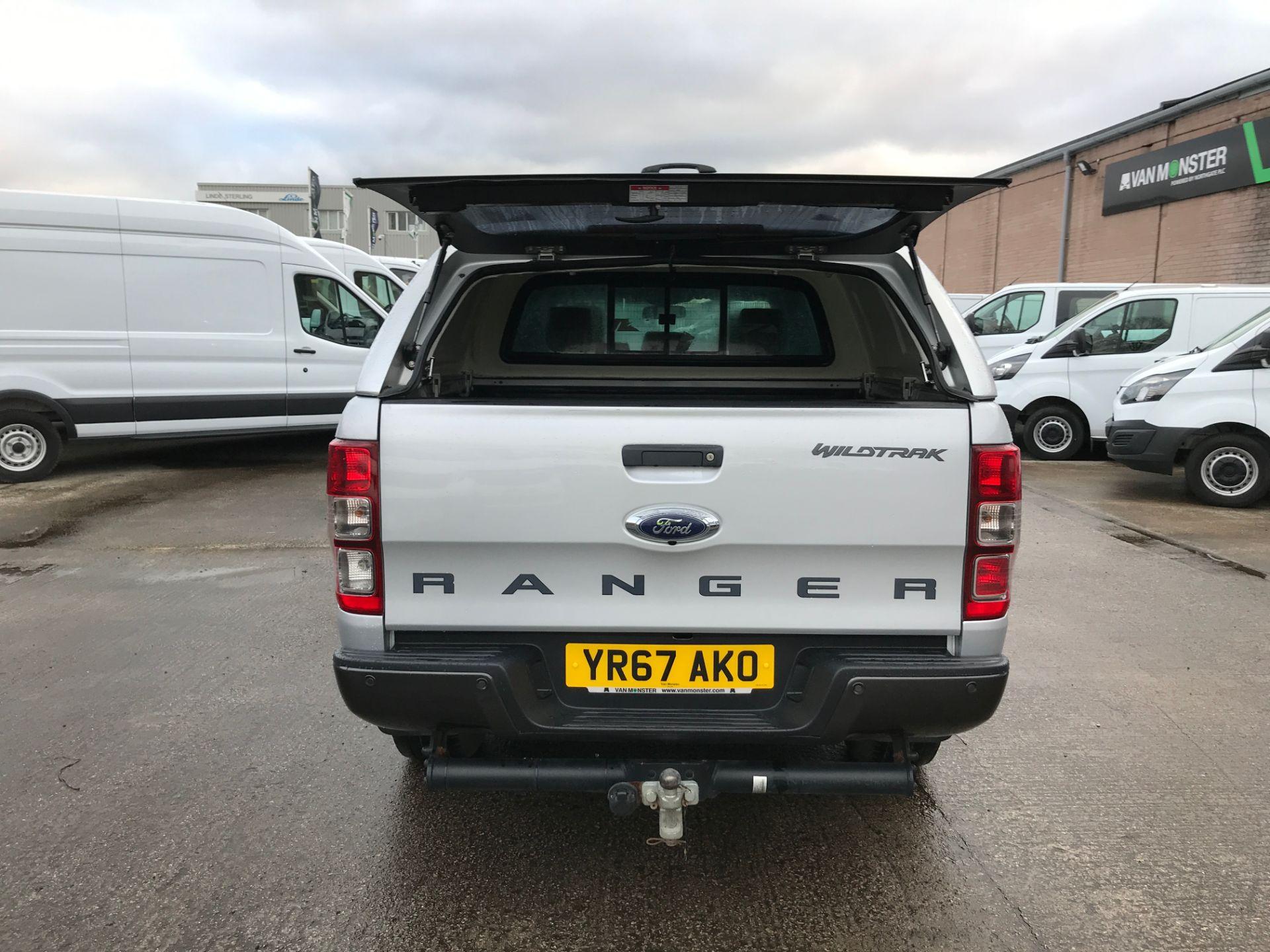 2017 Ford Ranger DOUBLE CAB 4X4 WILDTRAK 3.2TDI 200PS EURO 5 (YR67AKO) Image 18